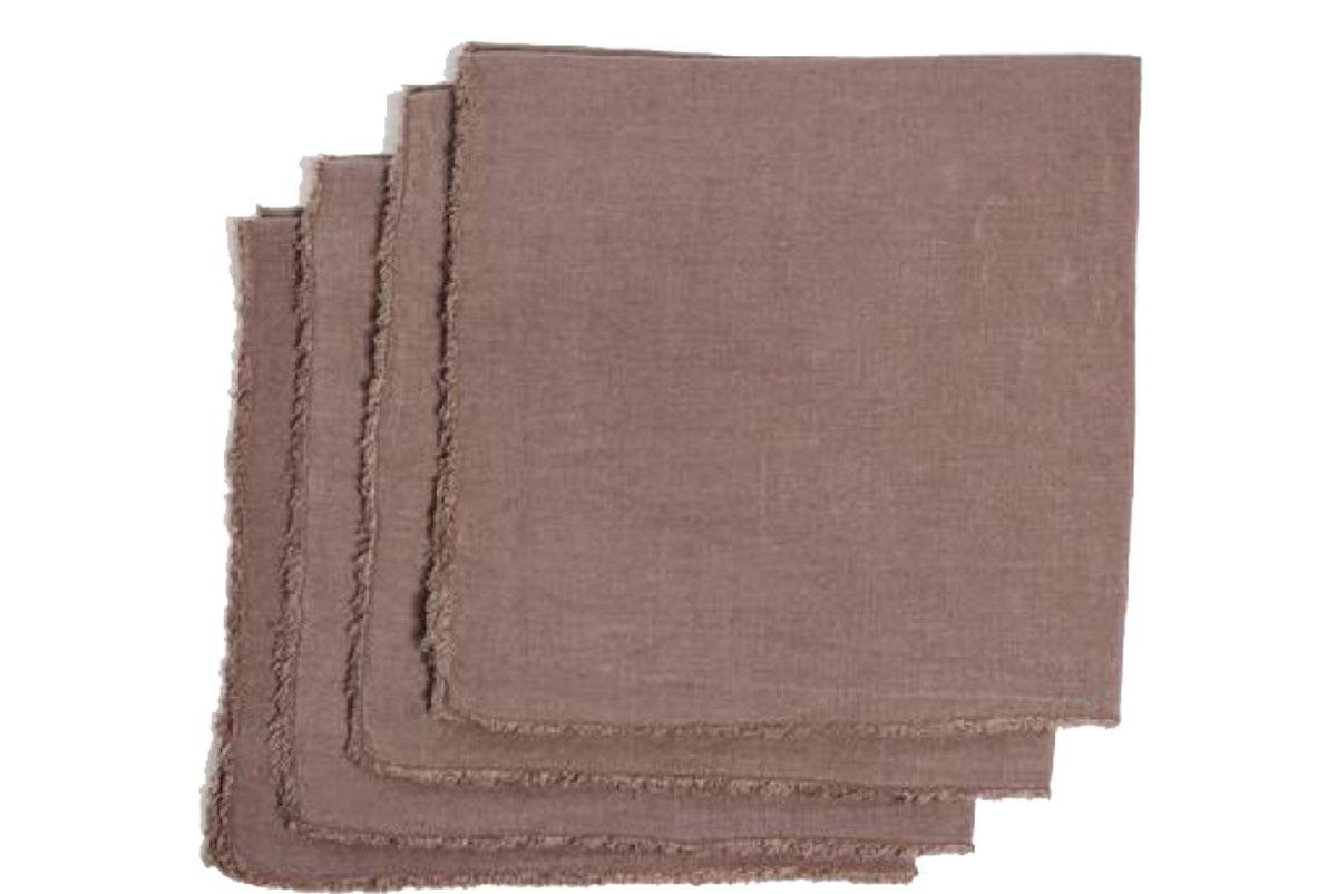 society limonta linen napkin
