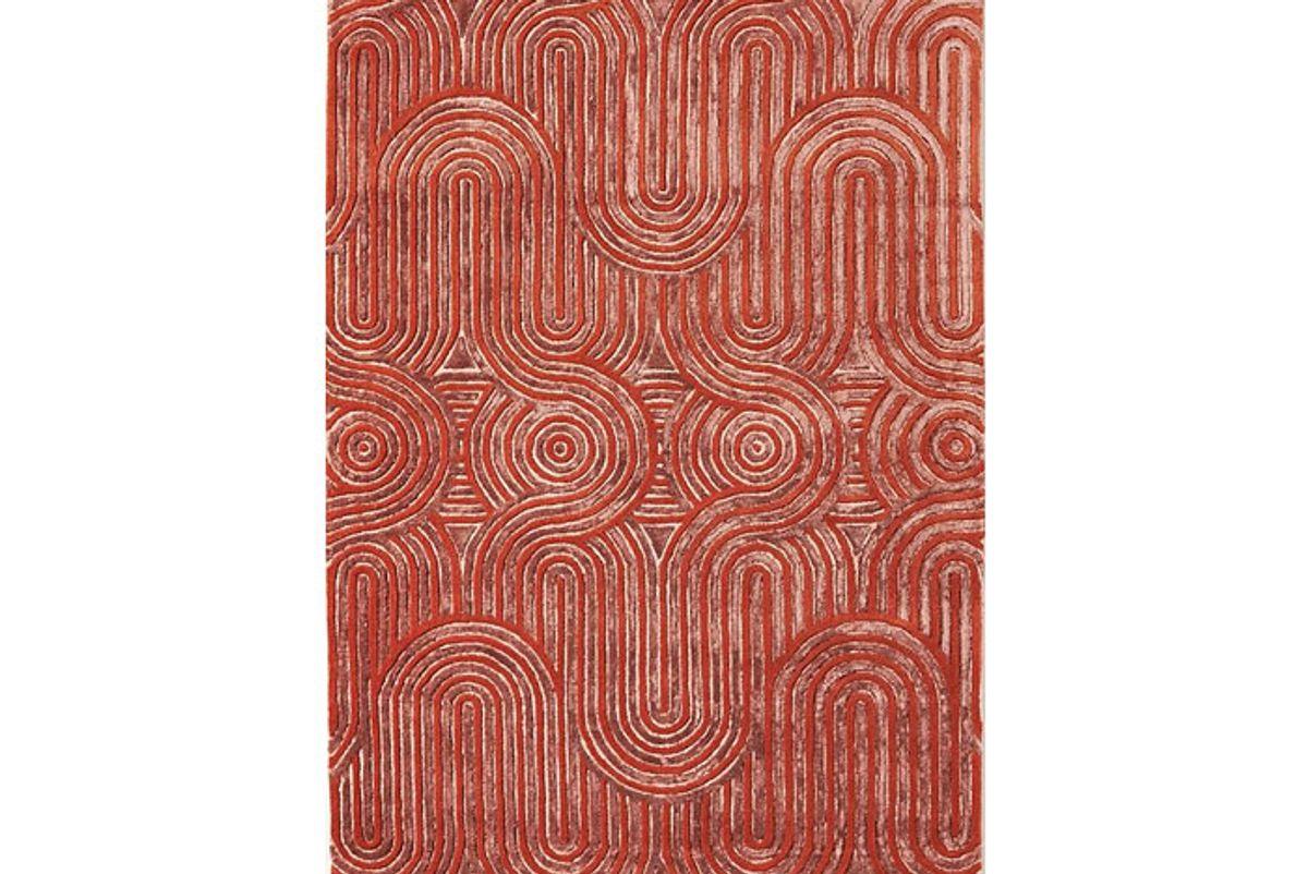 anthropologie hand tufted karim rug