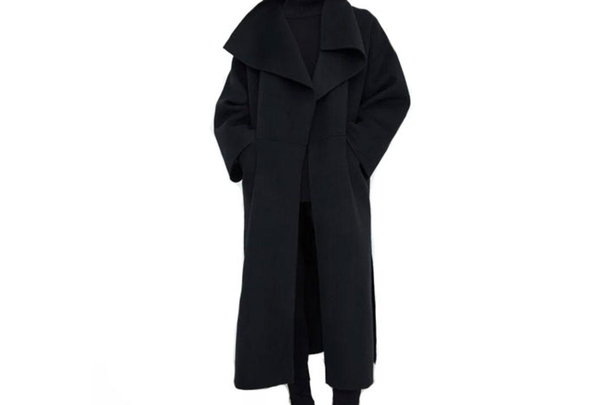 toteme signature wool cashmere coat