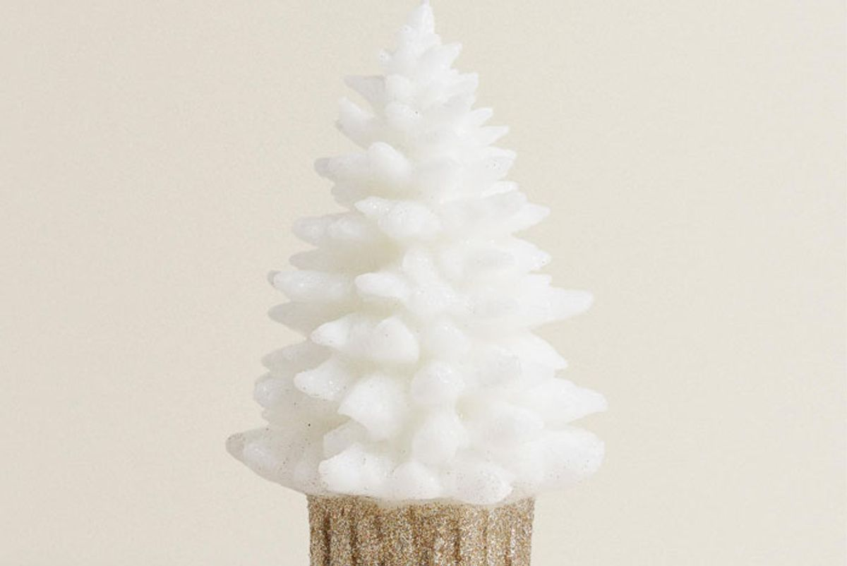 zara home christmas tree candle