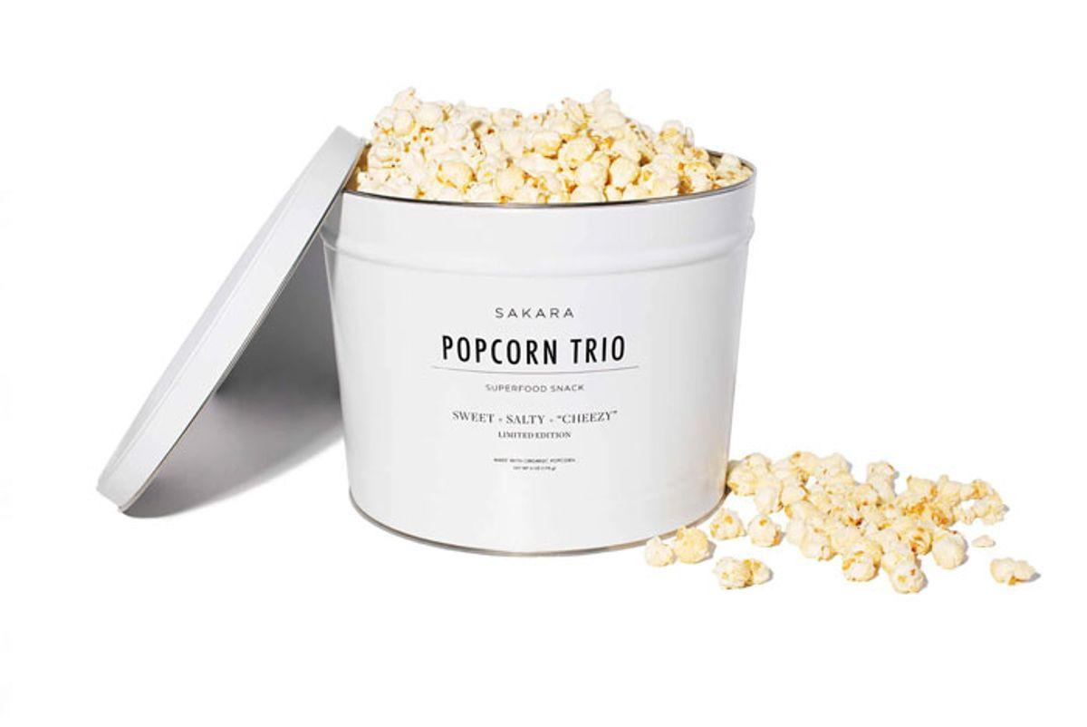 sakara popcorn trio