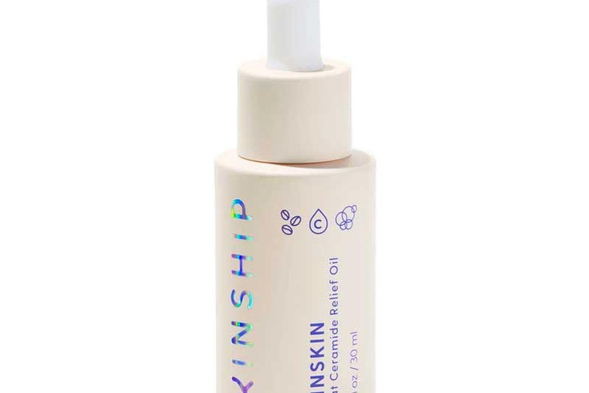 kinship kinskin oat ceramide relief face oil