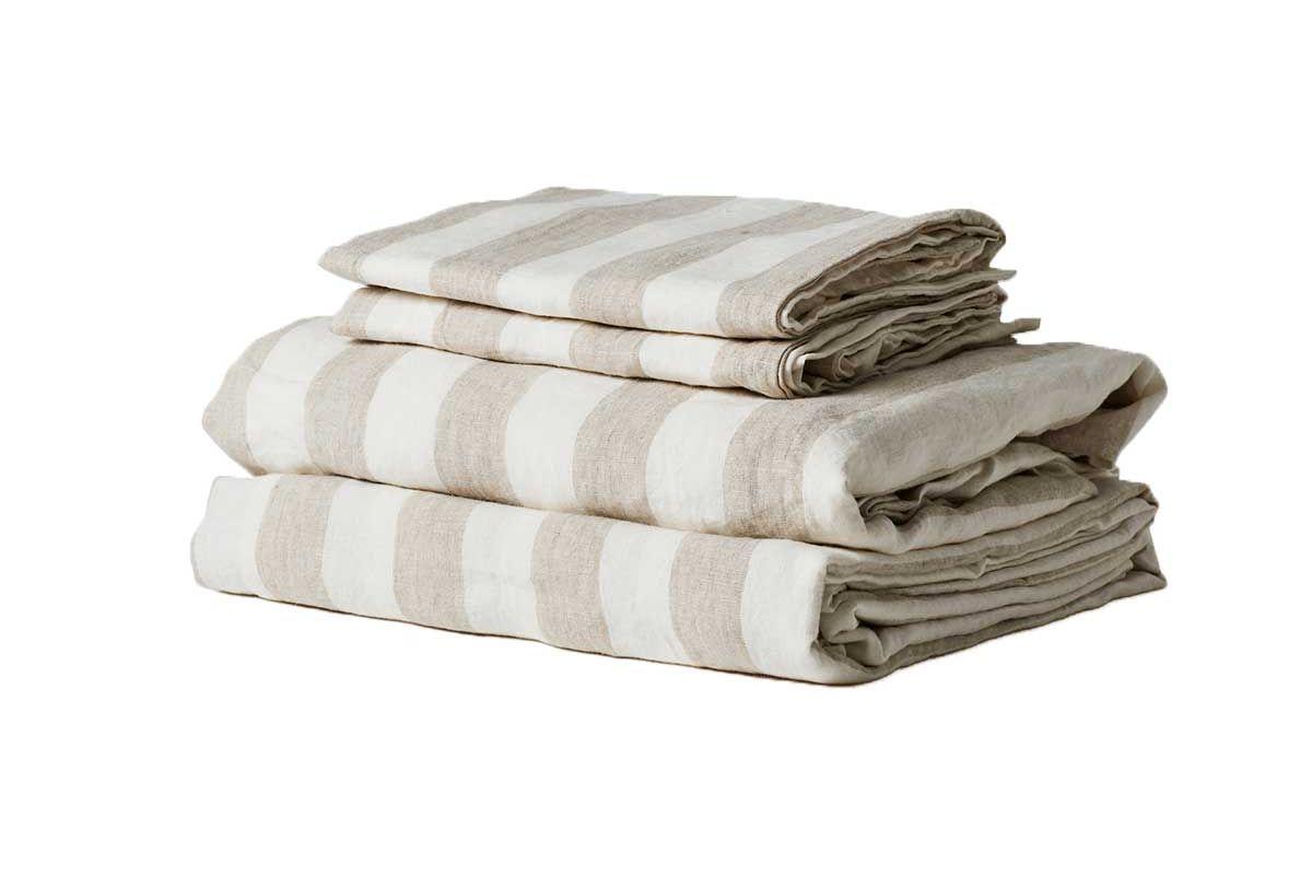 i love linen sheet set