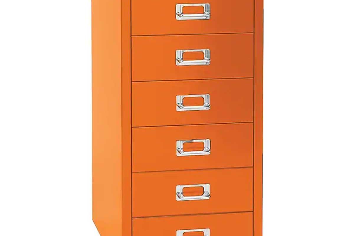 bisley six drawer steel multidrawer