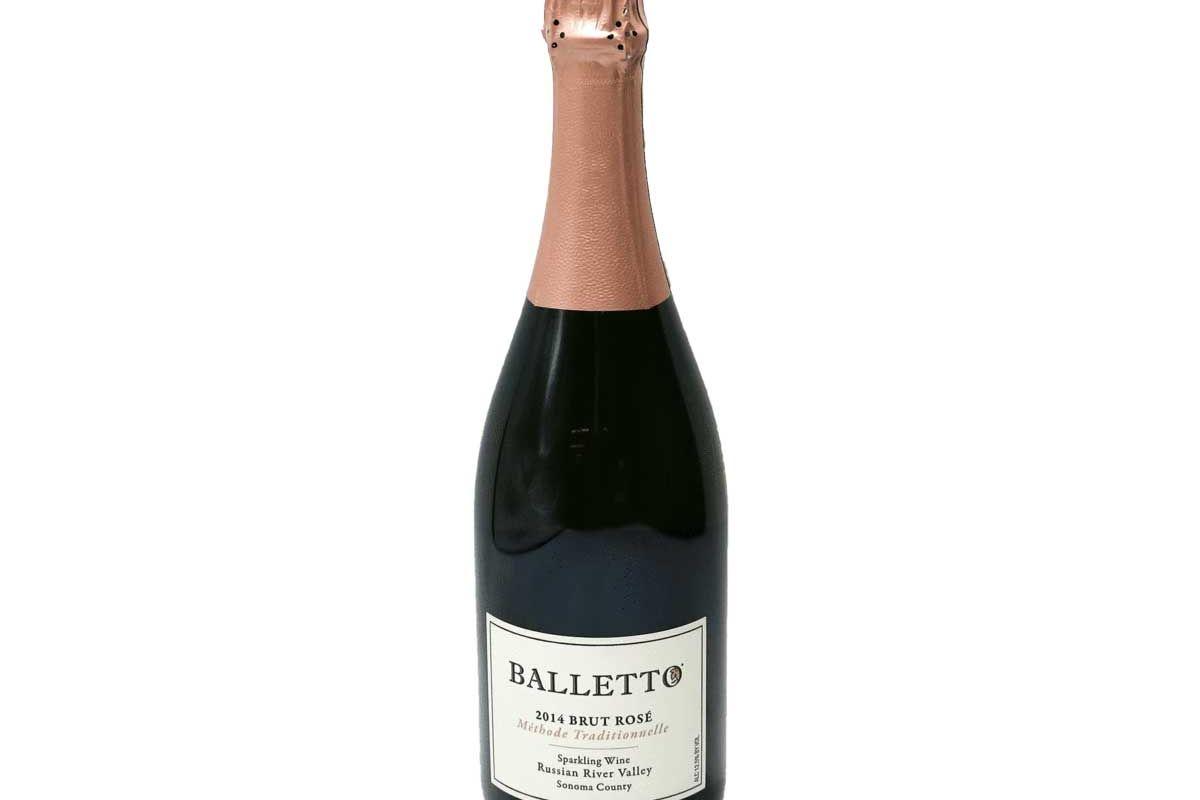 balletto vineyards brut rose 2014