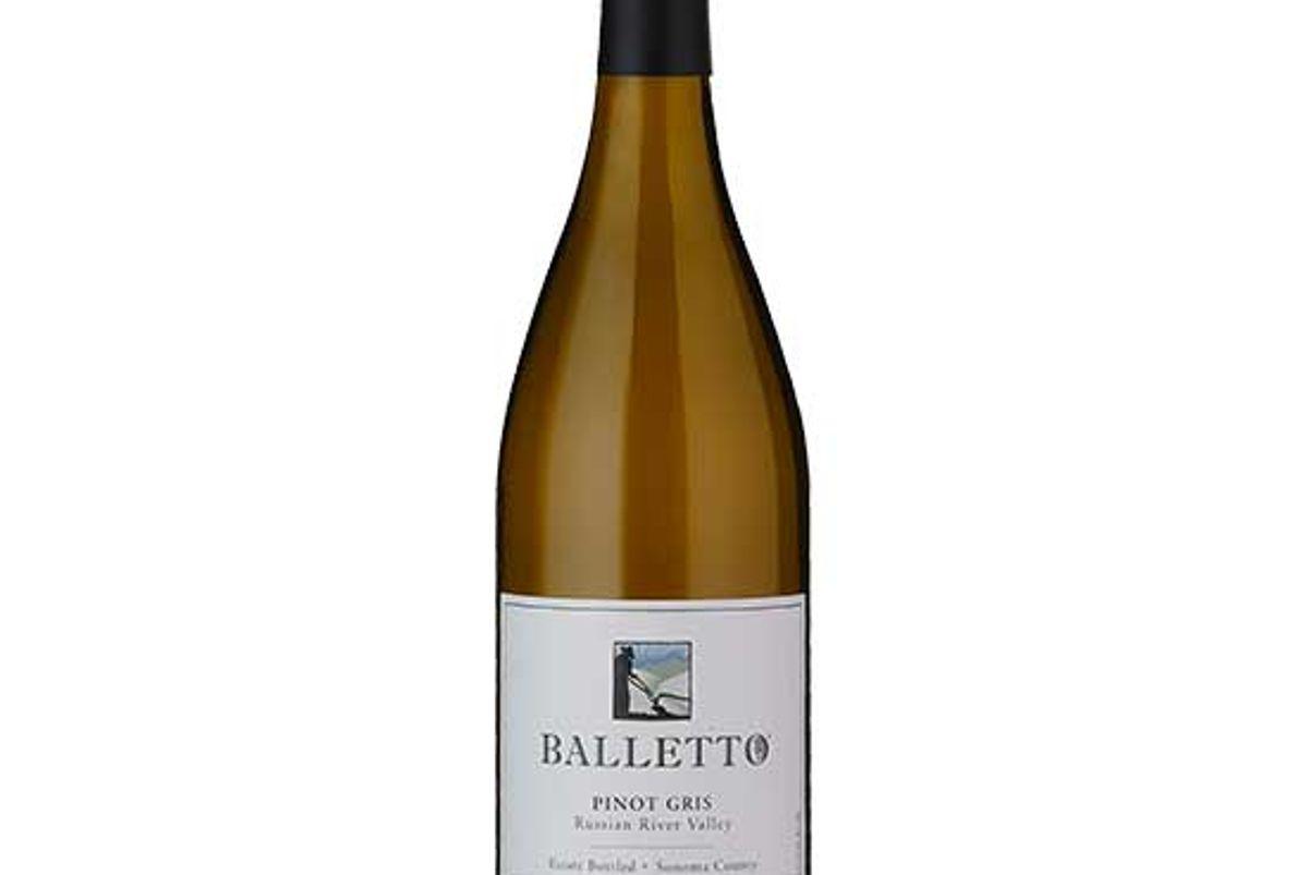 balletto vineyards 2019 pinot gris