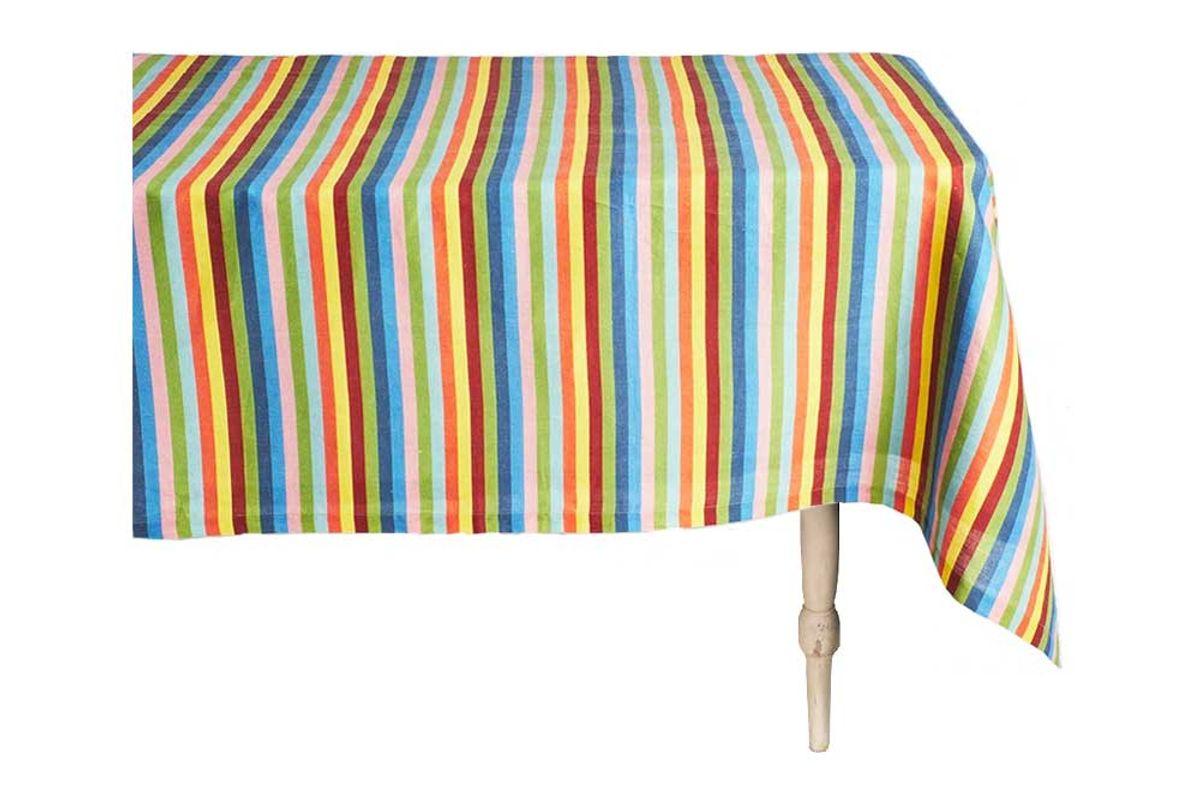 cabana tingere square linen tablecloth
