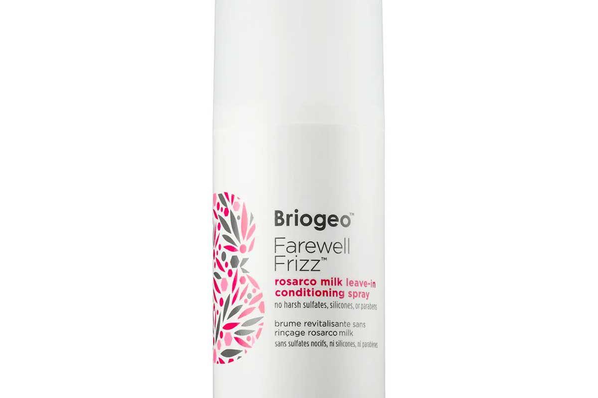 briogeo farewell frizz rosarco milk leave in conditioner