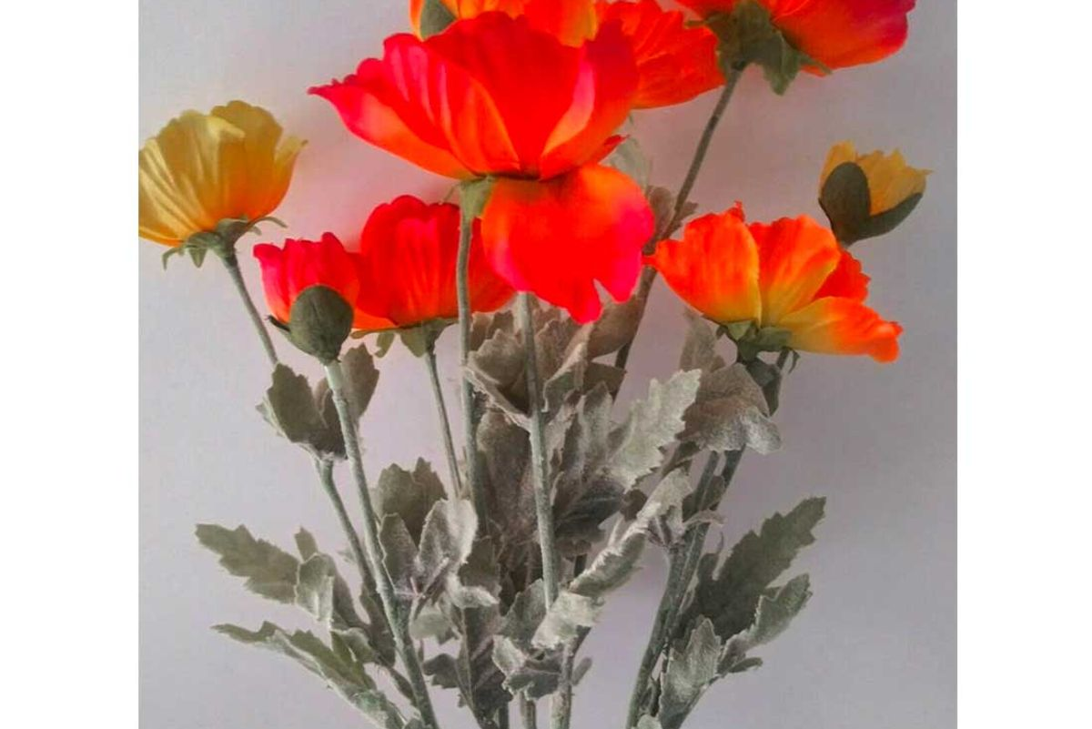 flowers by james absolutely gorgeous designer quality poppies silk flowers
