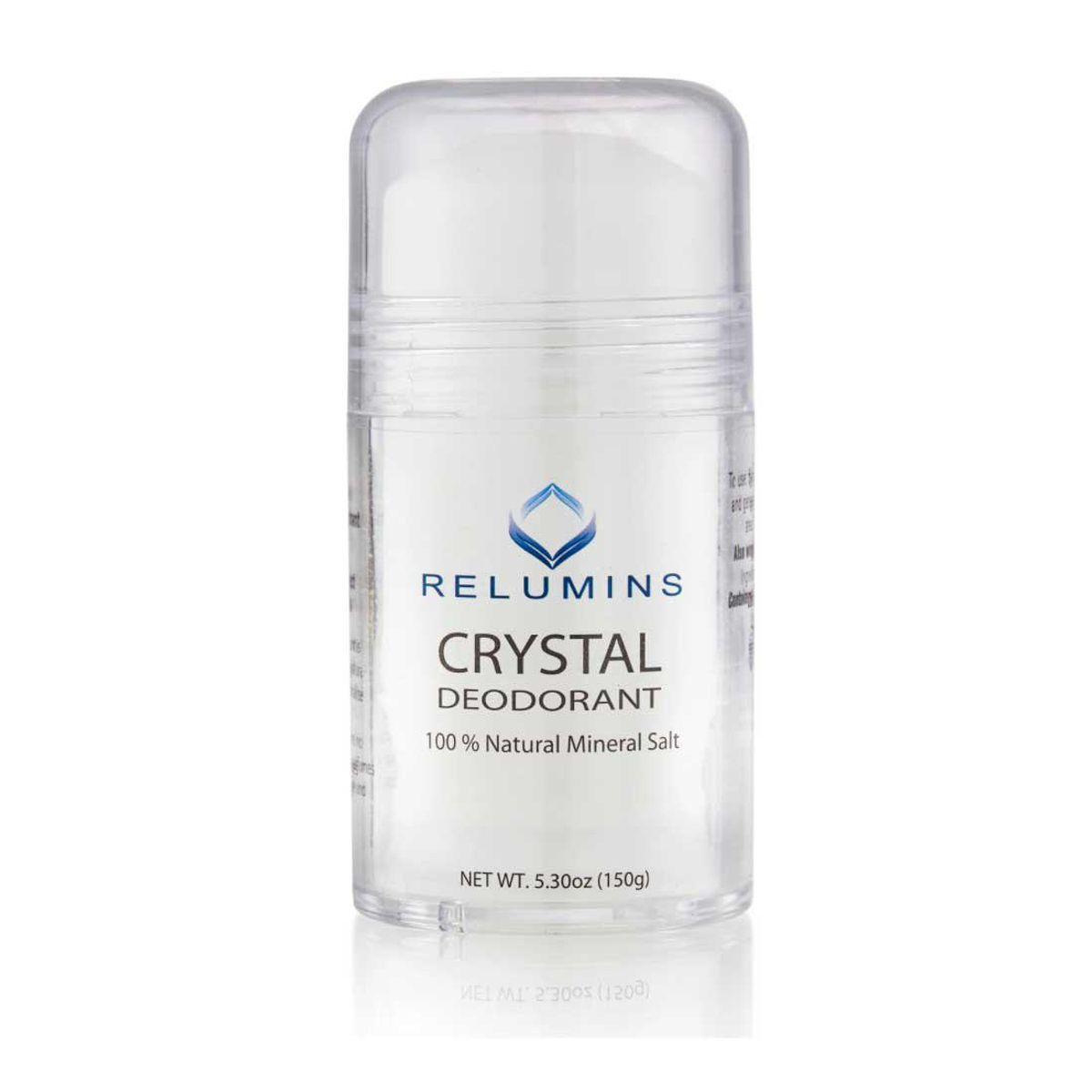 relumins natural mineral salt crystal deodorant