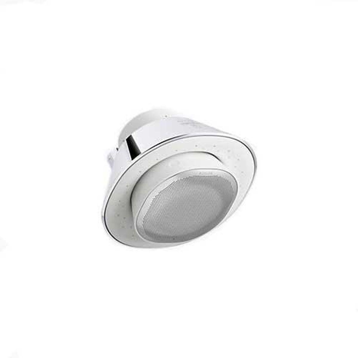 moxie 1.75 gpm showerhead and wireless speaker
