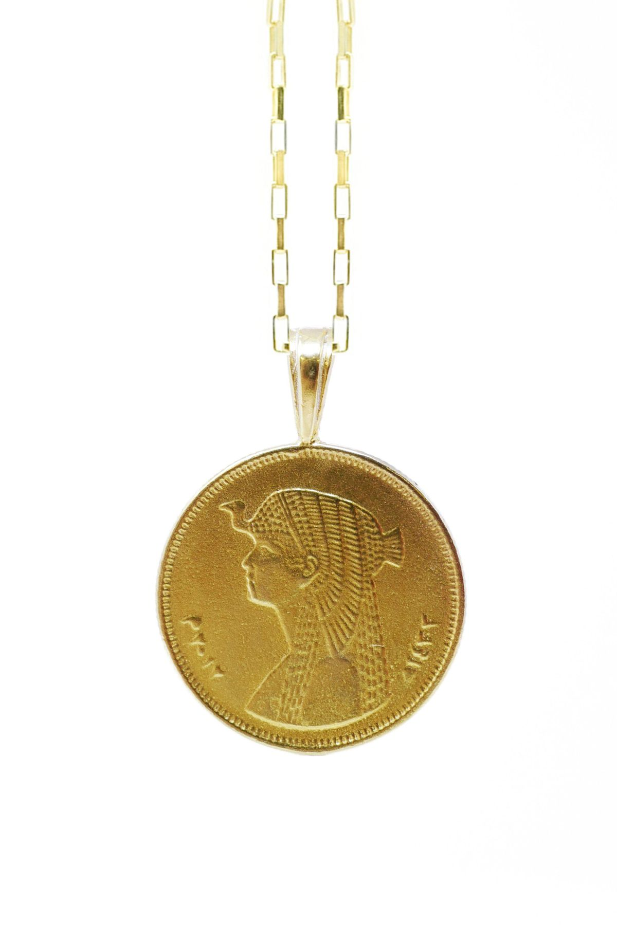 Omi Woods The Egyptian Coin Necklace Stack I