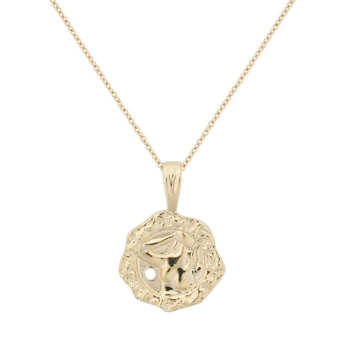 ycl jewels hexagonal femme necklace