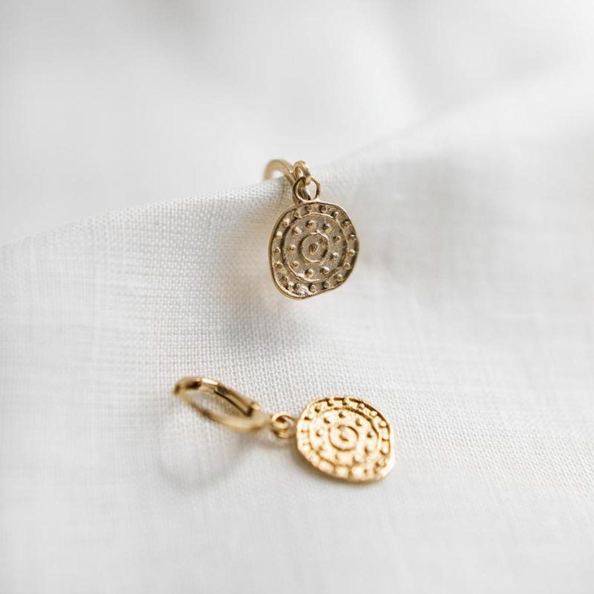 agape palmyre earrings