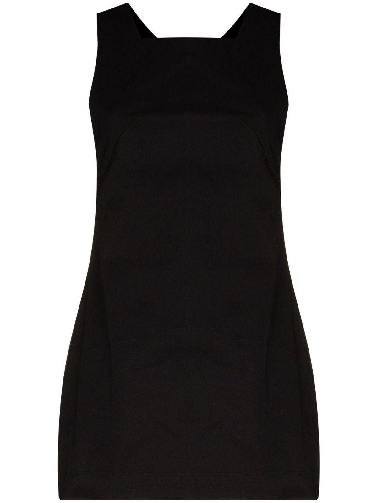 bondi born square neck mini dress