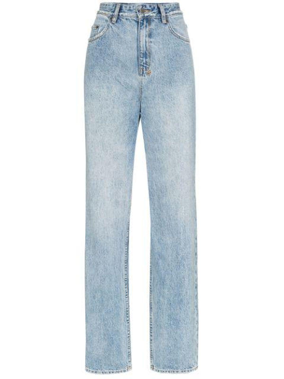 ksubi playback high waisted straight leg jeans