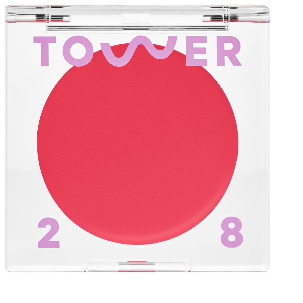 tower 28 beauty beach please lip and cheek cream blush