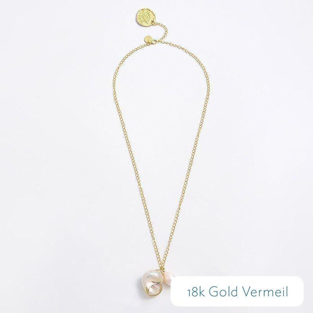 Ocean Pearl Necklace