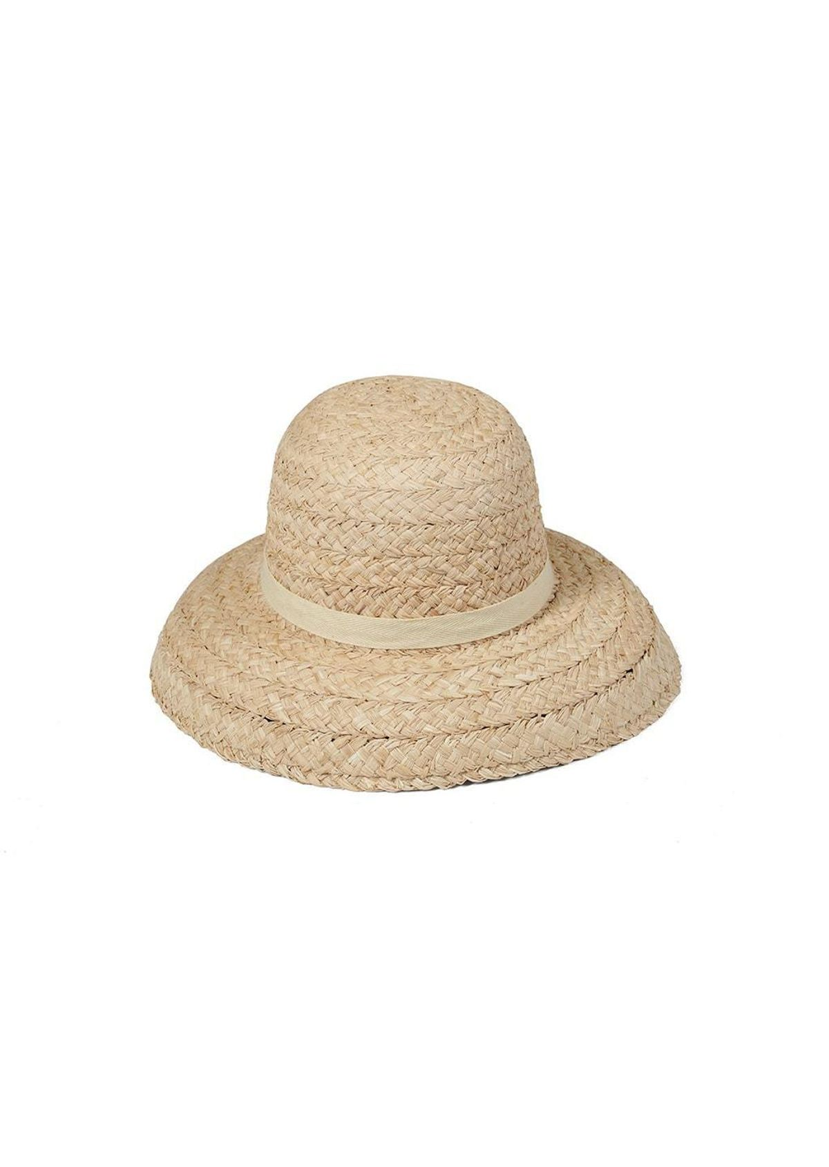 the beach people bloom raffia hat