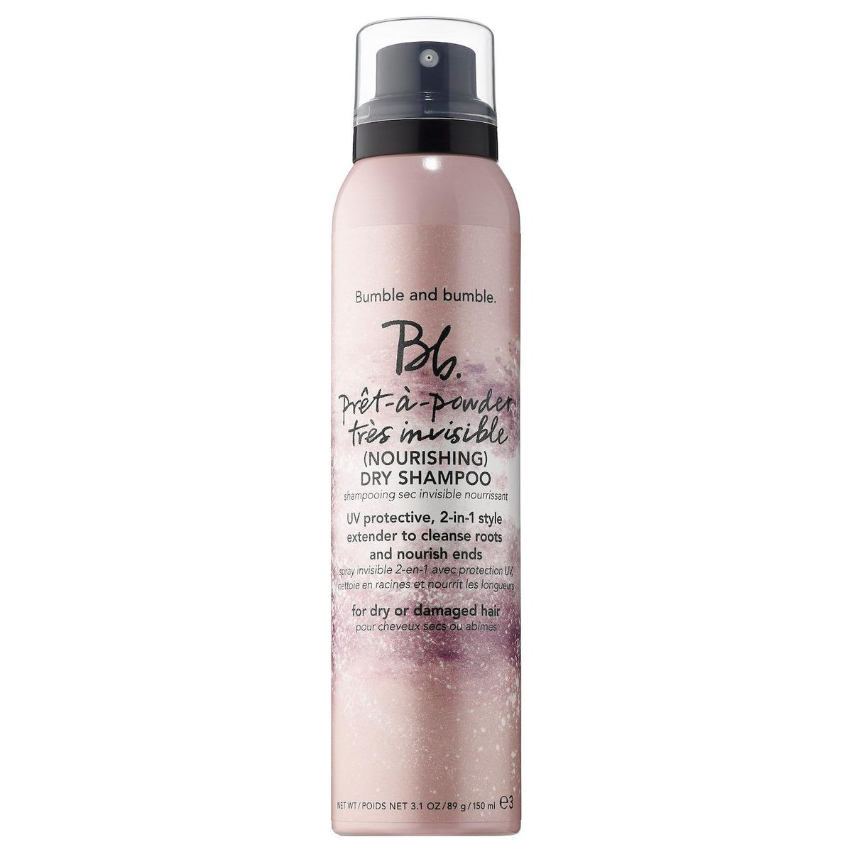 bumble and bumble bb pret a powder tres invisible nourishing dry shampoo with hibiscus extract