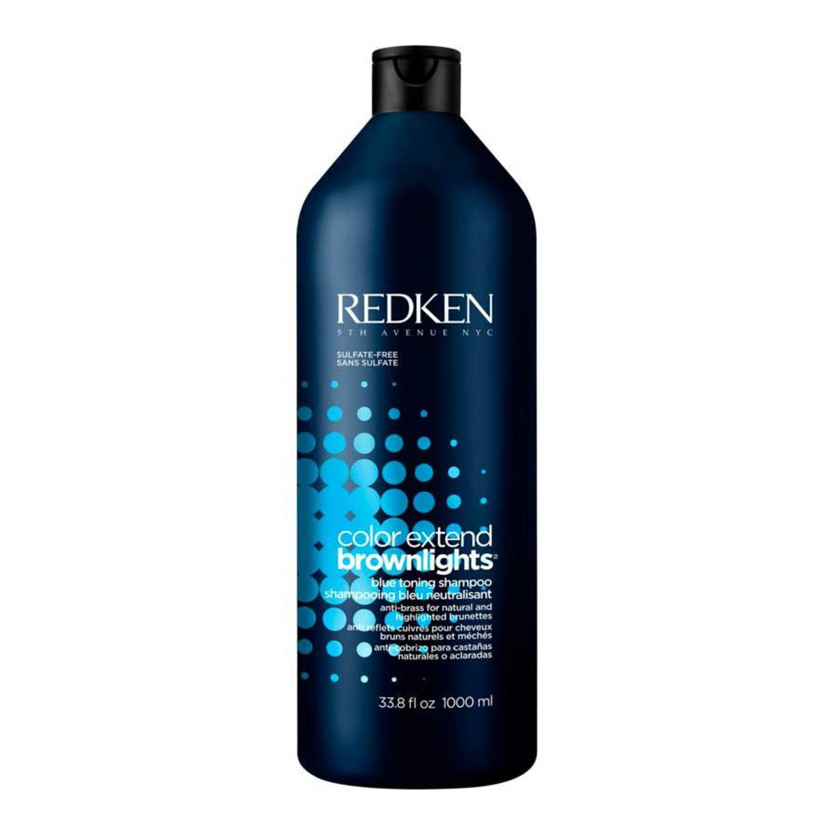 redken color extend brownlights blue toning sulfate free shampoo
