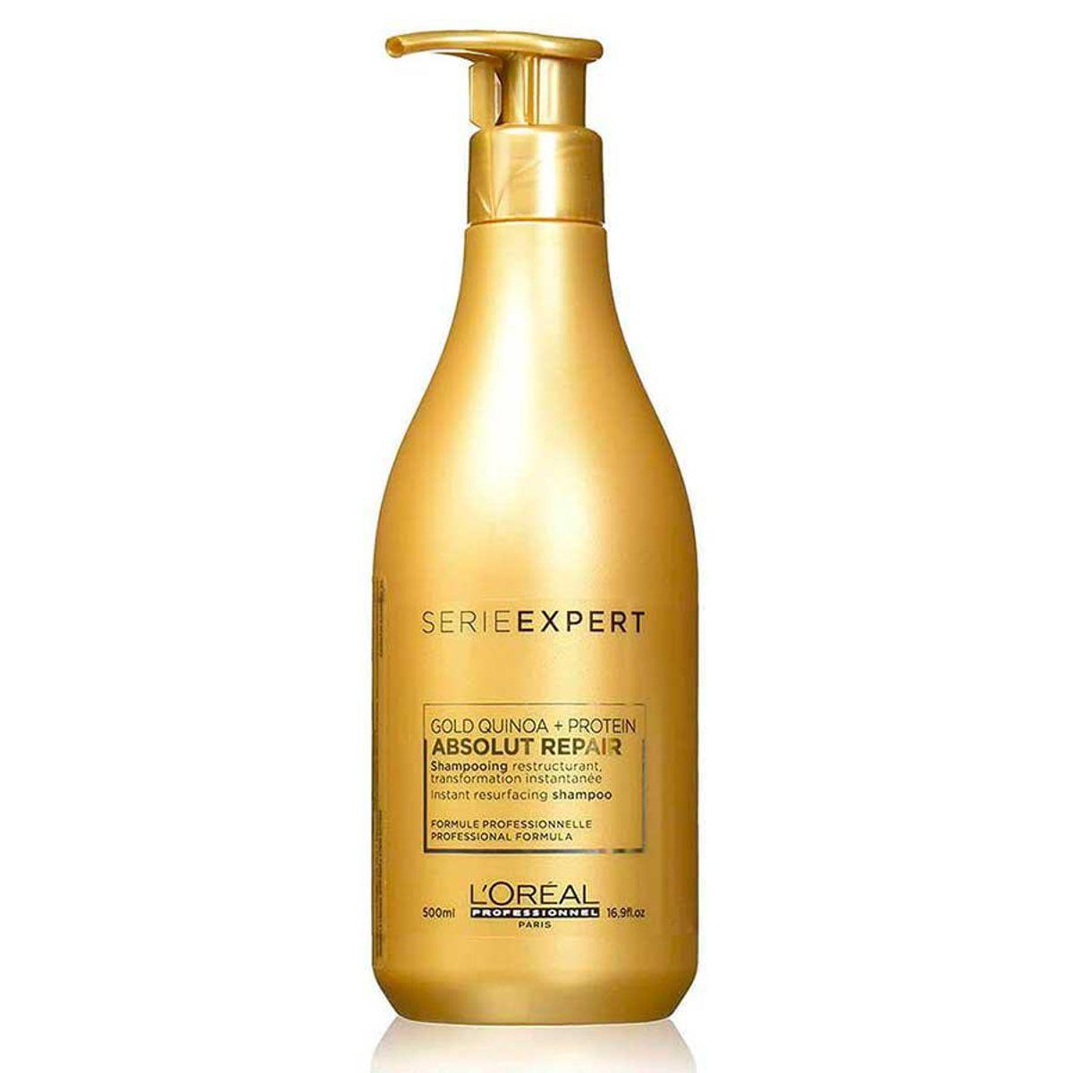 loreal instant resurfacing shampoo absolut repair