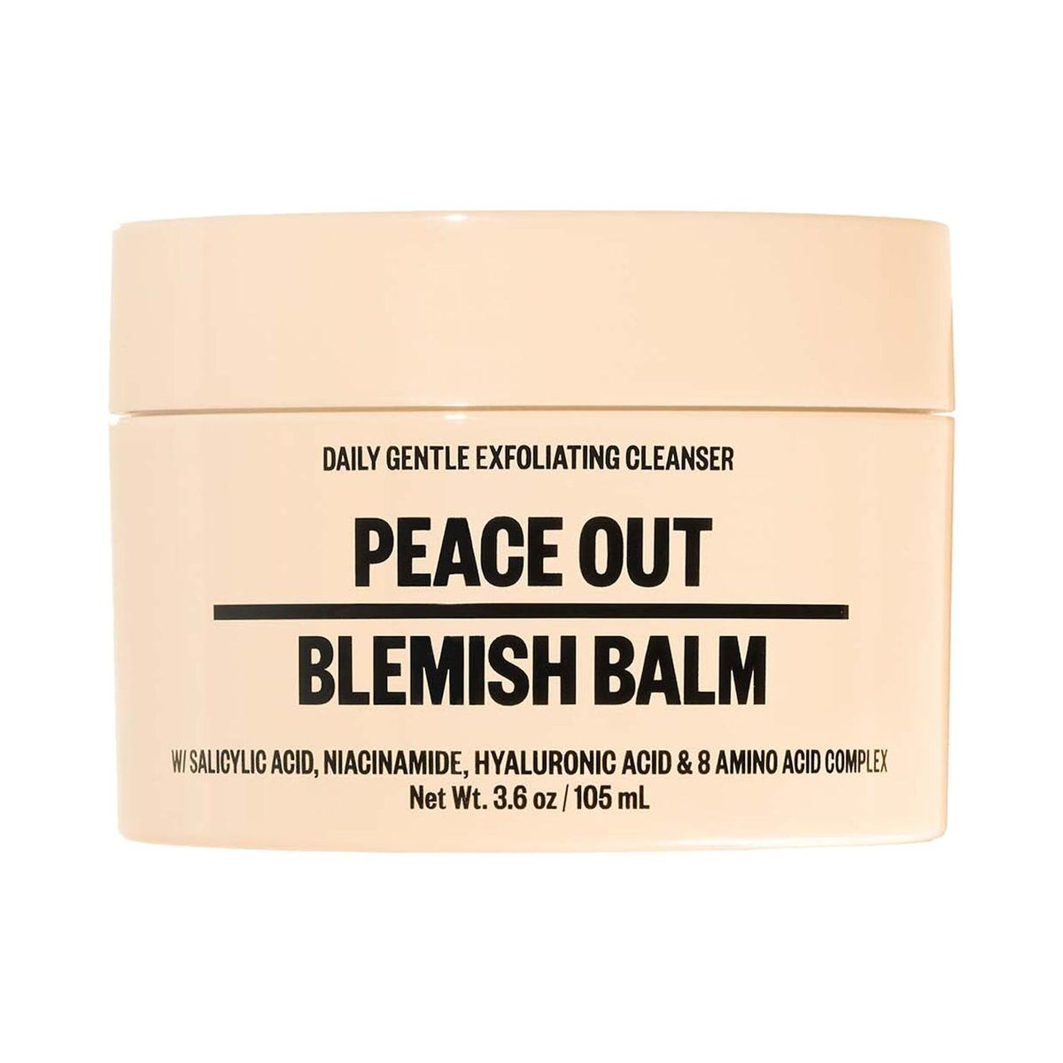 peace out blemish balm cleanser