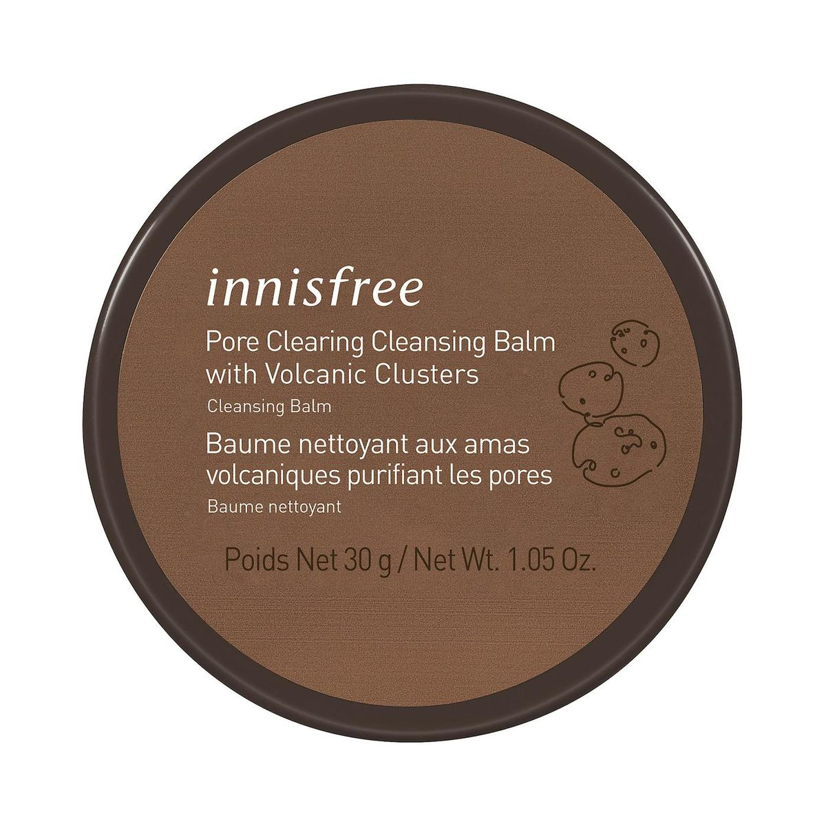 innisfree pore clearing volcanic cleansing balm