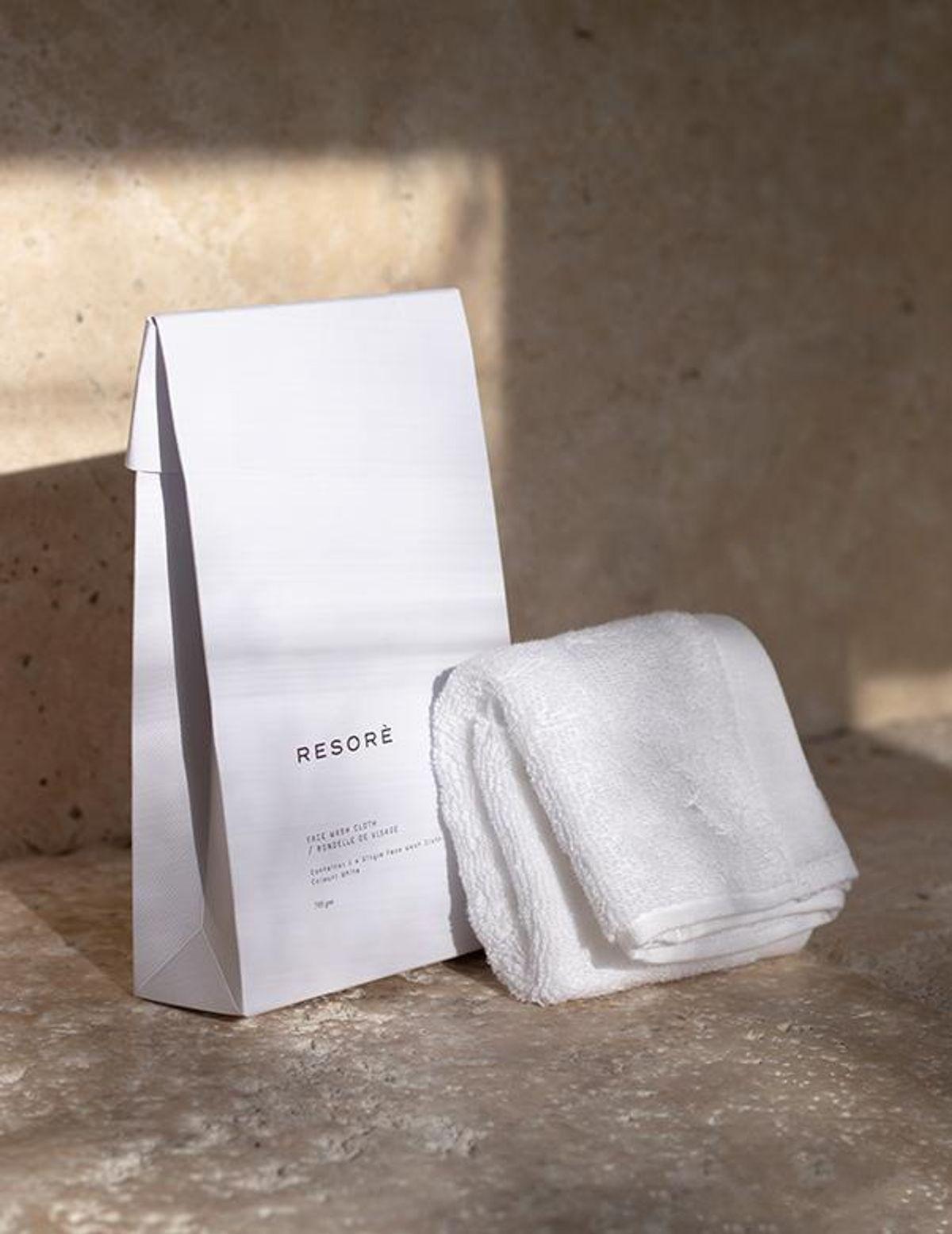 resore face towel