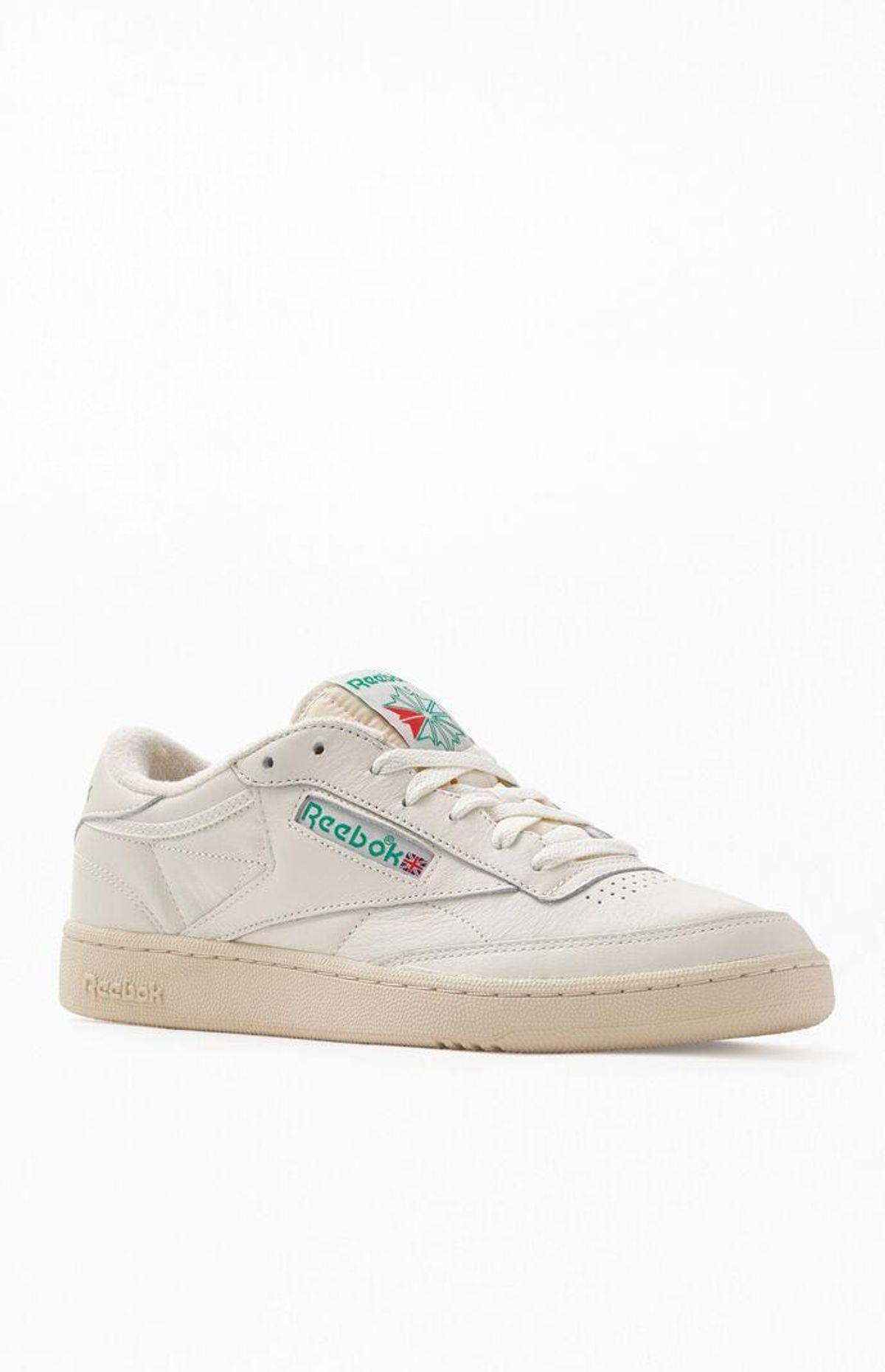 reebok off white club c 85 vintage shoes