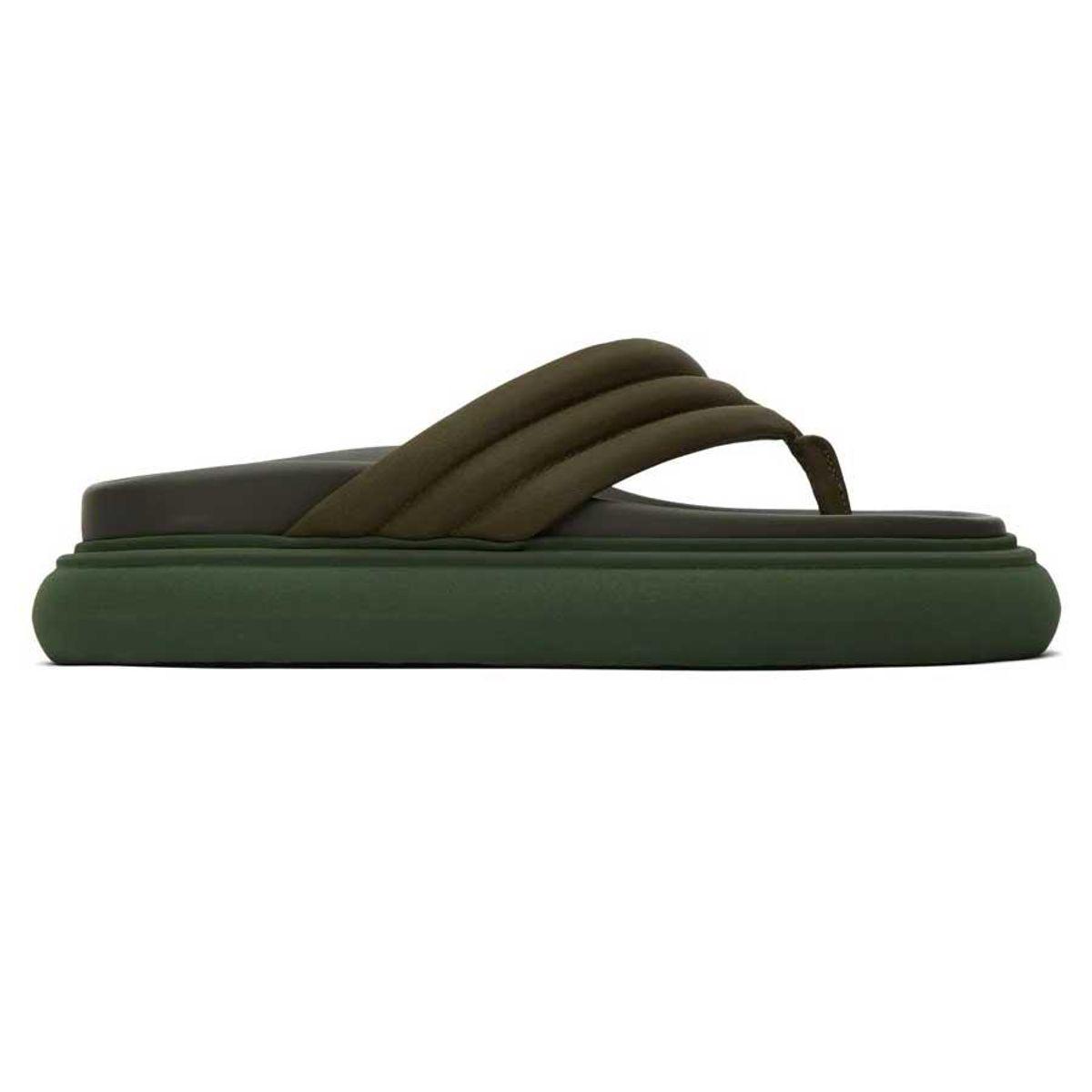 the attico satin alton thong flat sandals