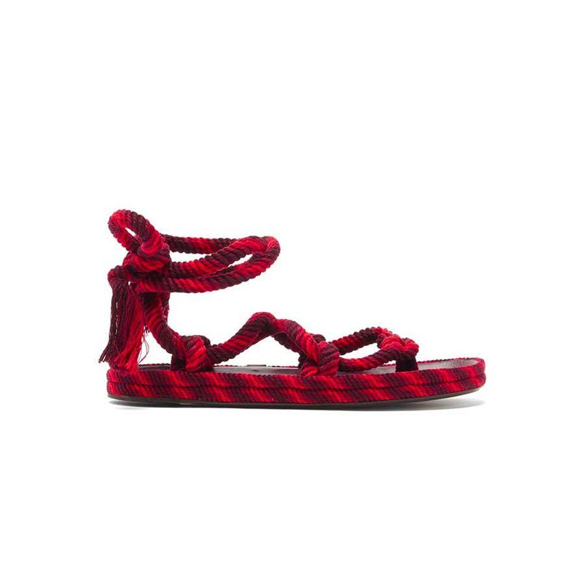 isabel marant erol rope sandals