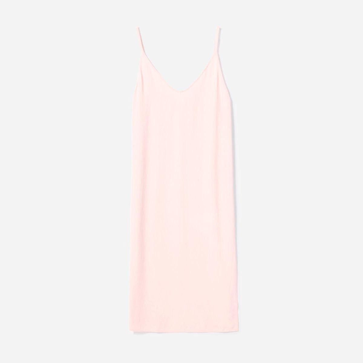 everlane the japanese goweave slip dress