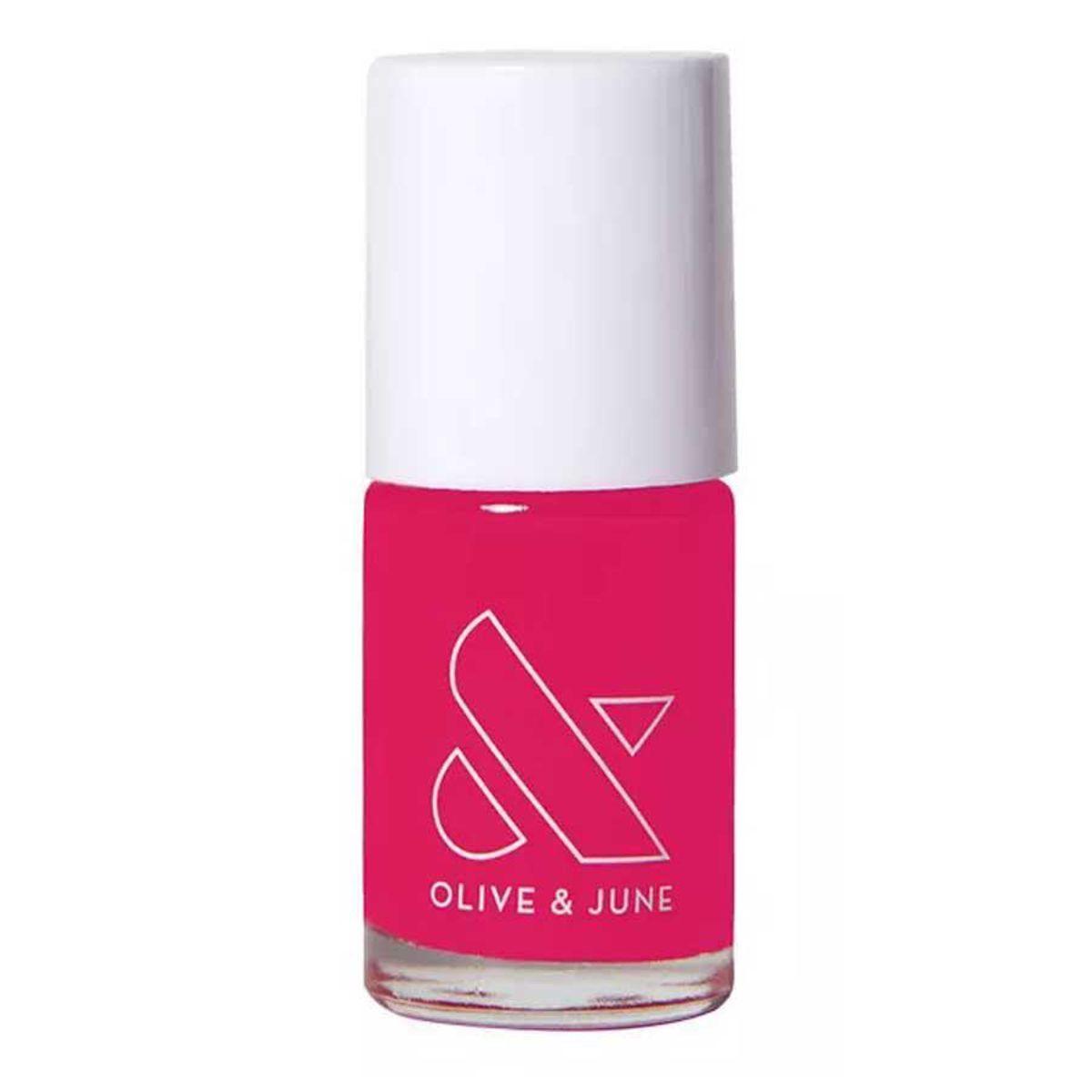 olive and june nail polish in xoxo