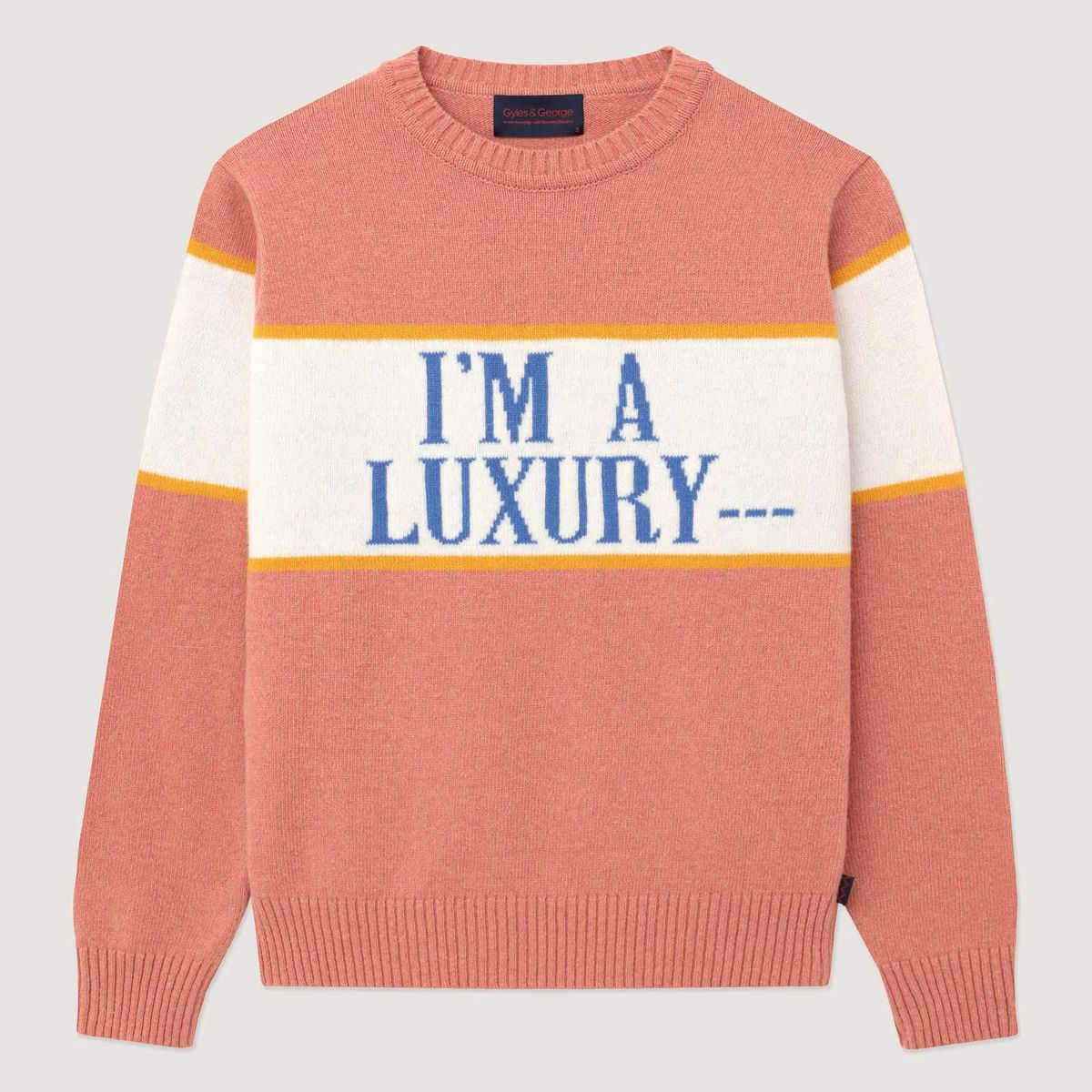 rowing blazers x glyes and george mens im a luxury sweater