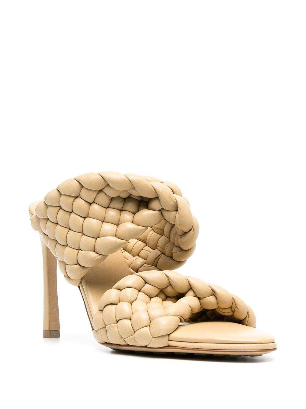 bottega veneta bv curve sandals