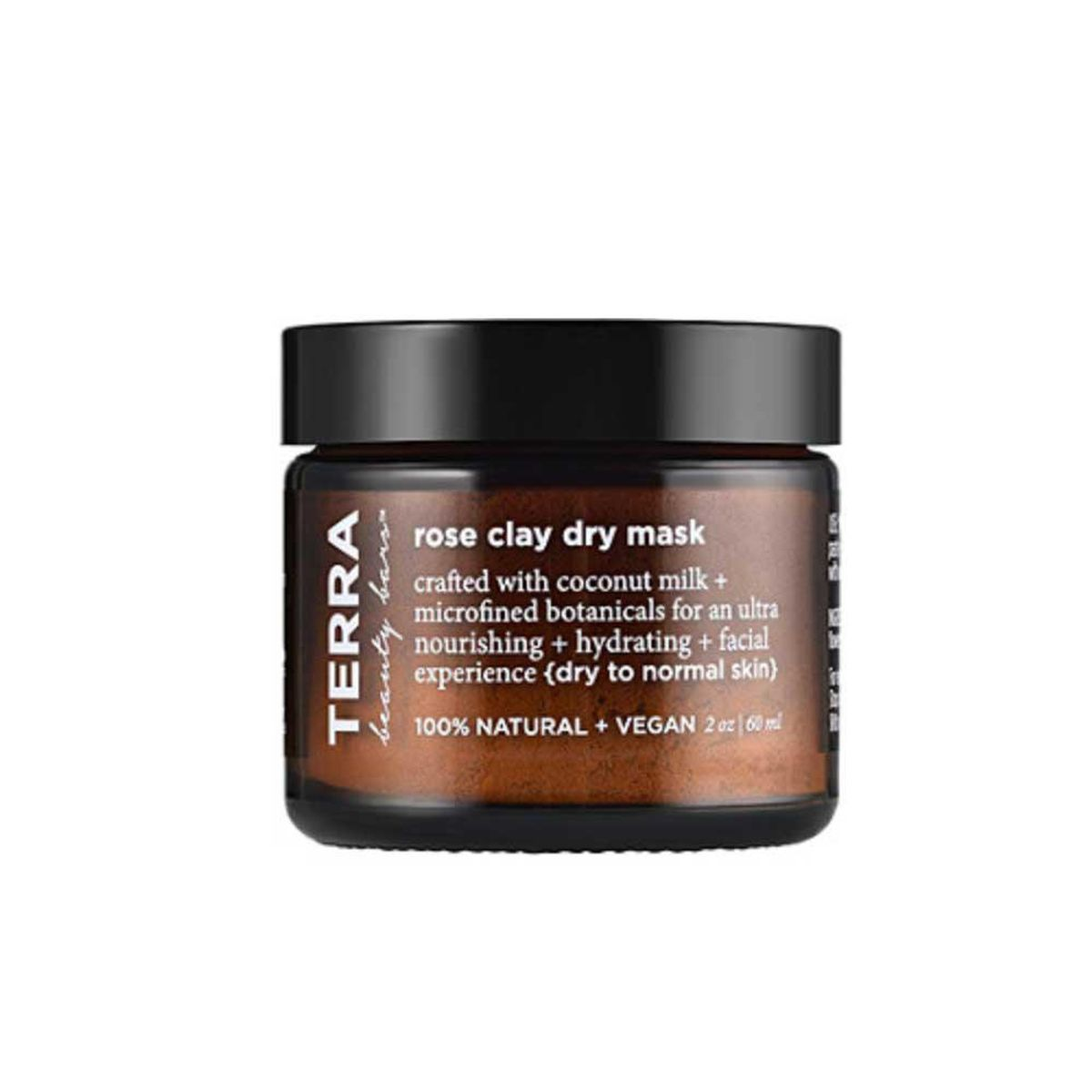 terra beauty bars rose clay dry mask
