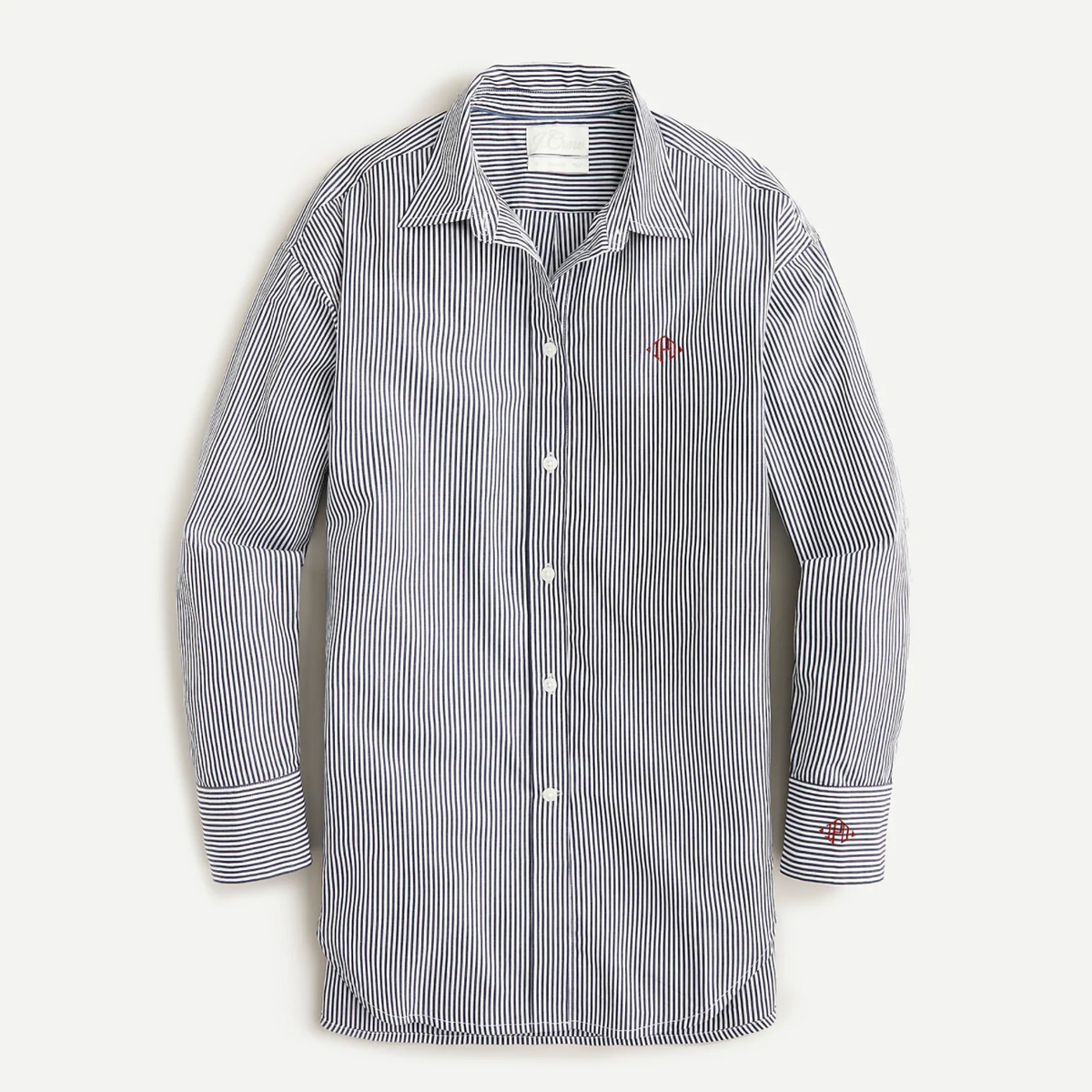 Relaxed Fit Crisp Cotton Poplin Shirt