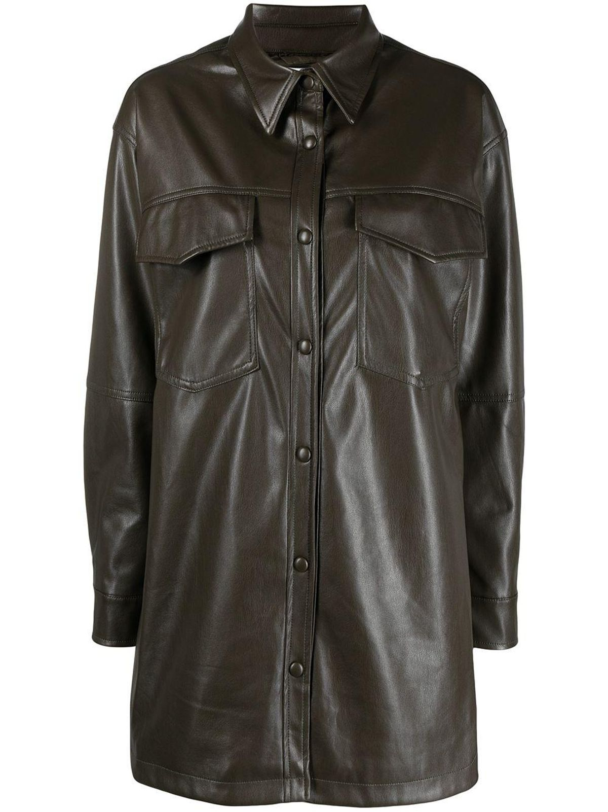 Riley Buttoned-Up Shirt Jacket