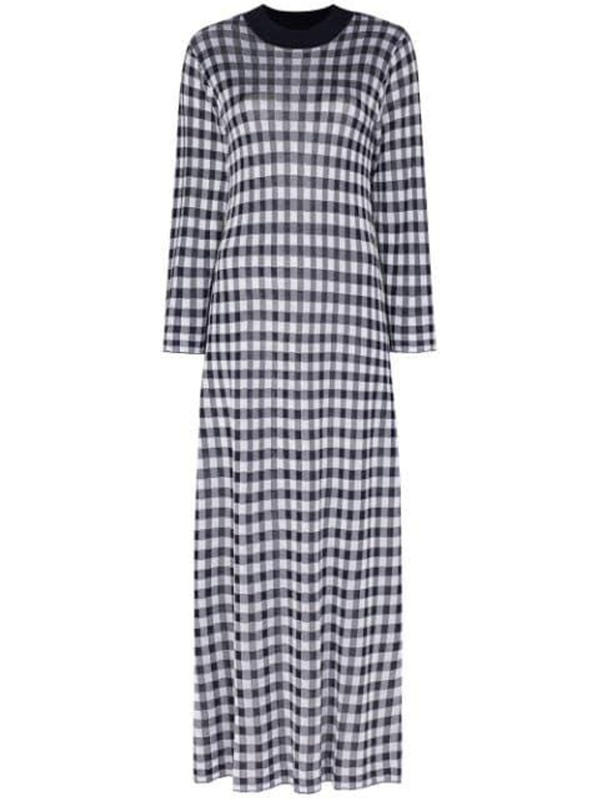 rixo bibi gingham midi dress