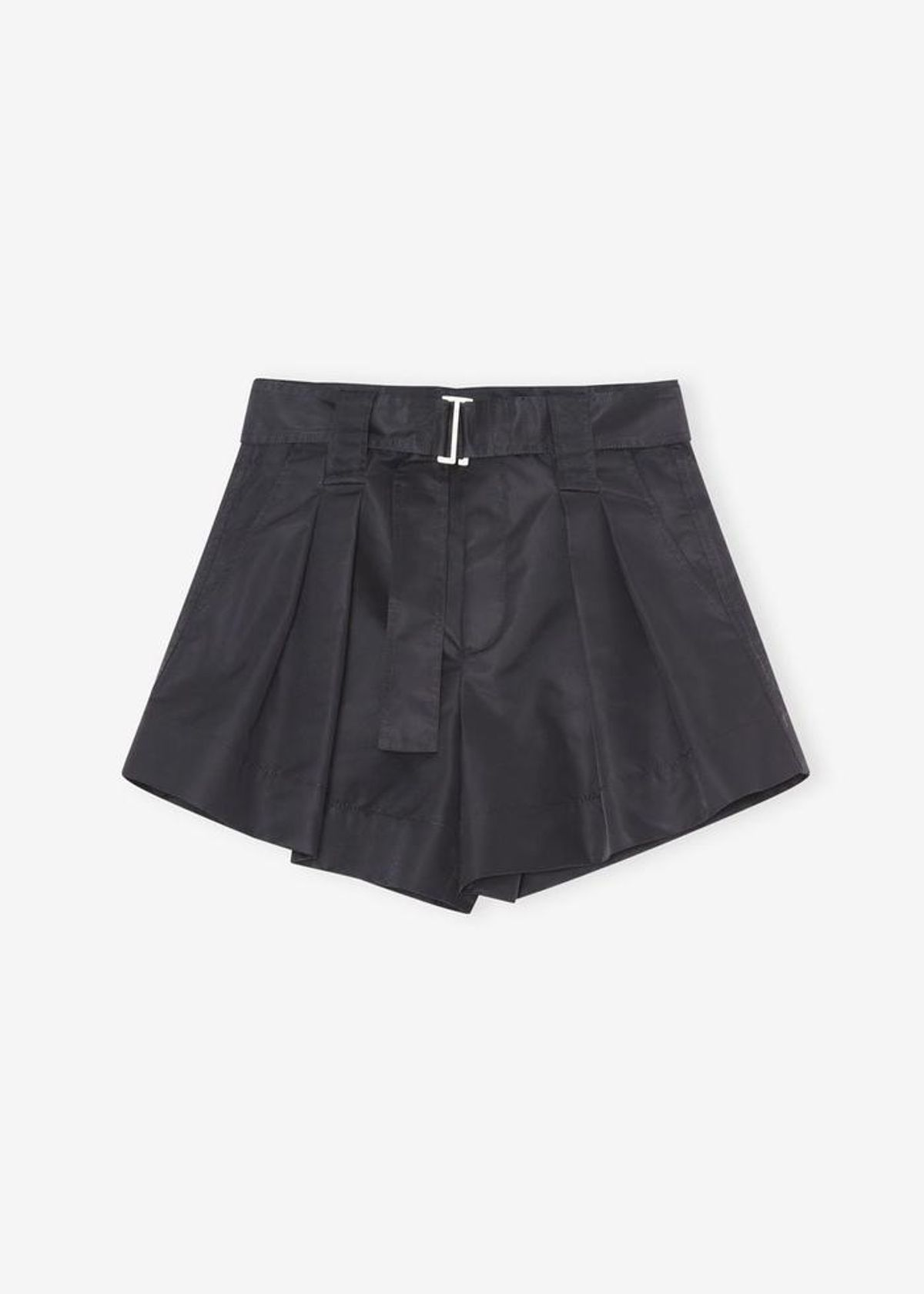 Recycled Nylon Shorts in Black