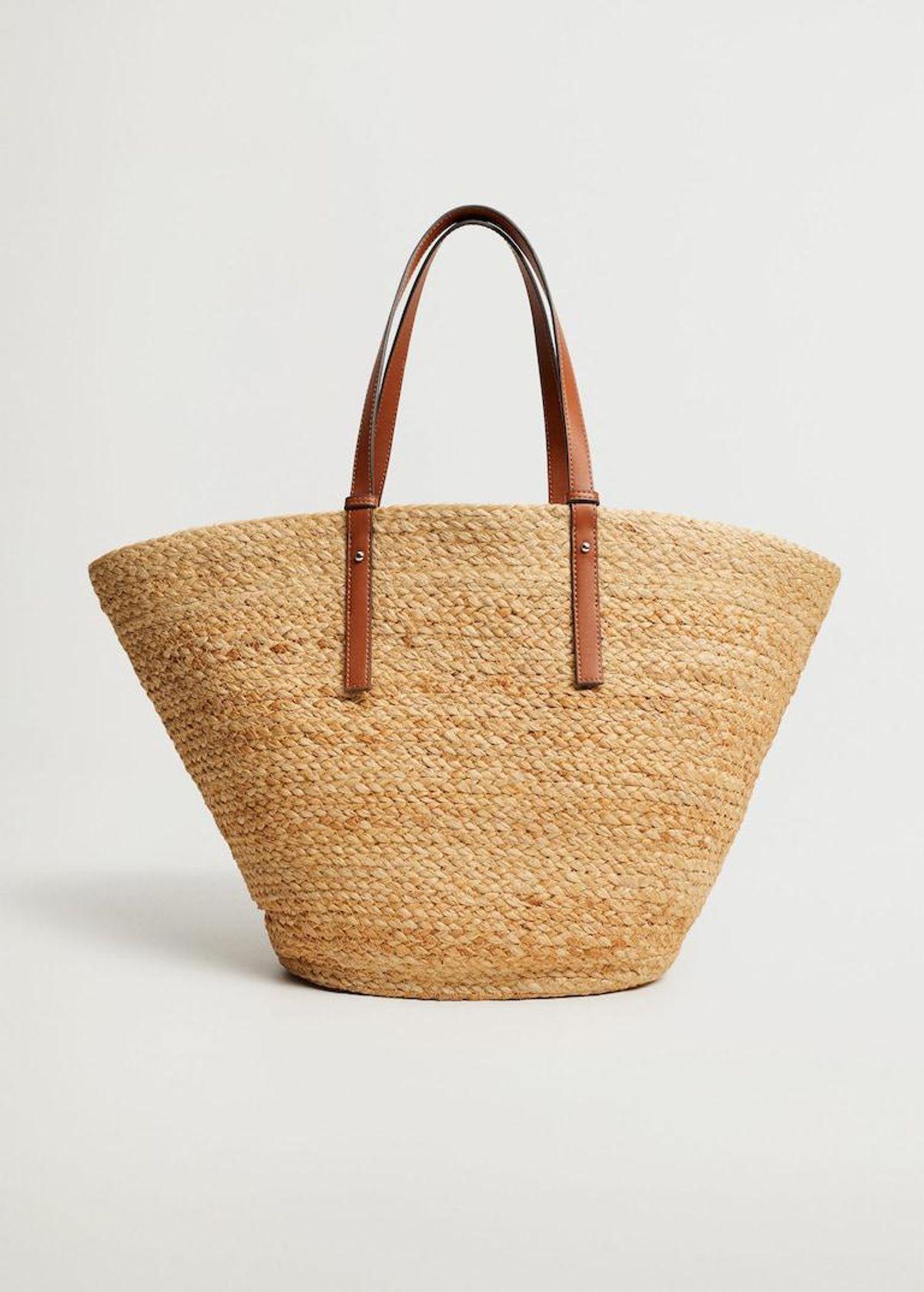 Jute Basket Bag