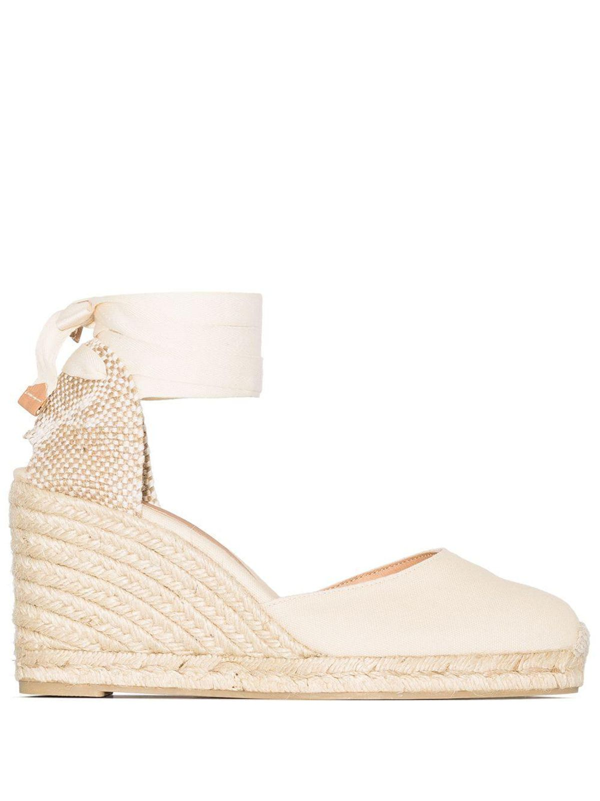 Carina 80mm Ankle Tie Wedge Sandals