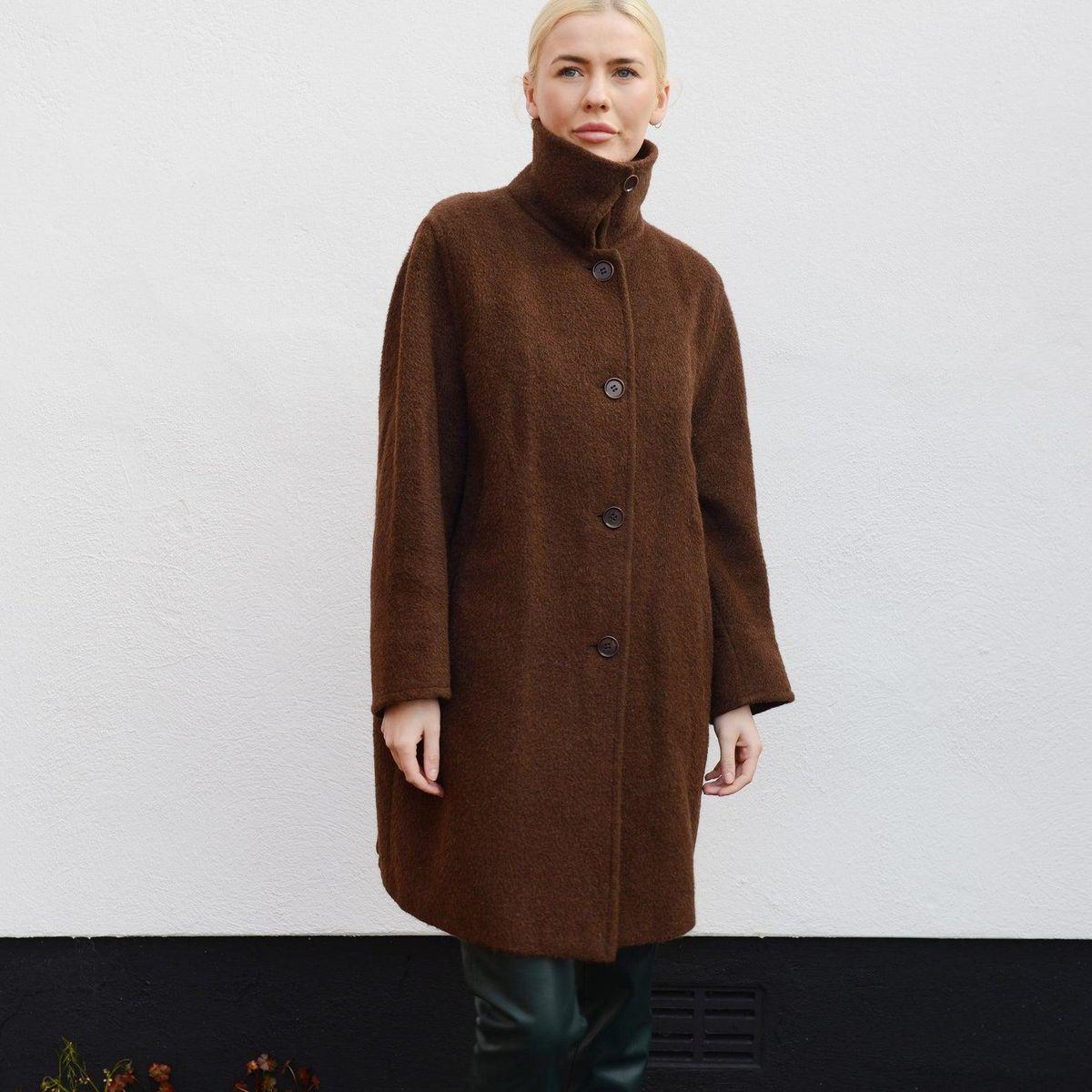 Alpaca Vintage Coat Size 6