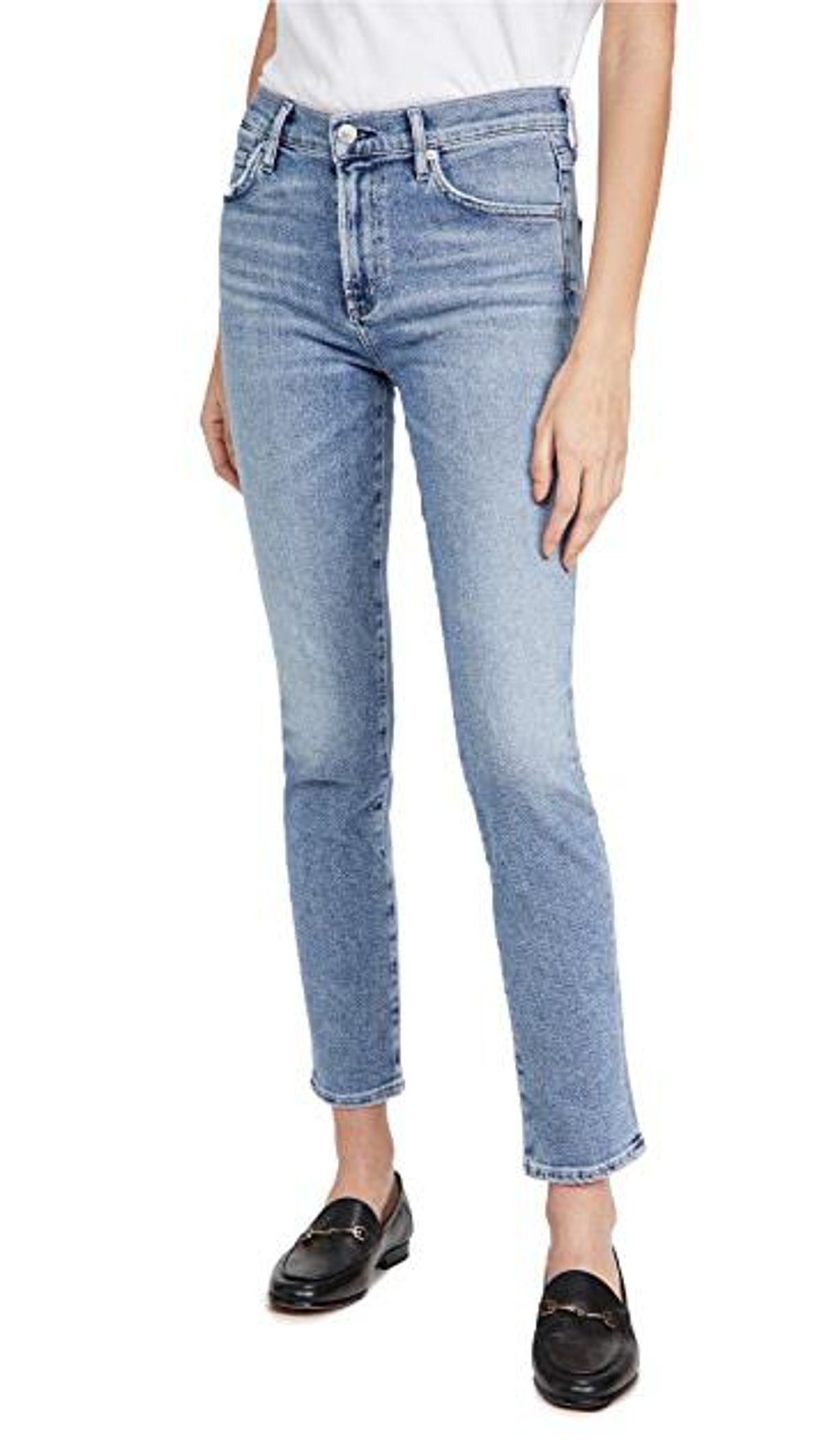Skyla Mid-Rise Cigarette Jeans