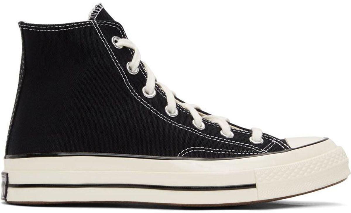 Black Chuck 70 High Sneakers