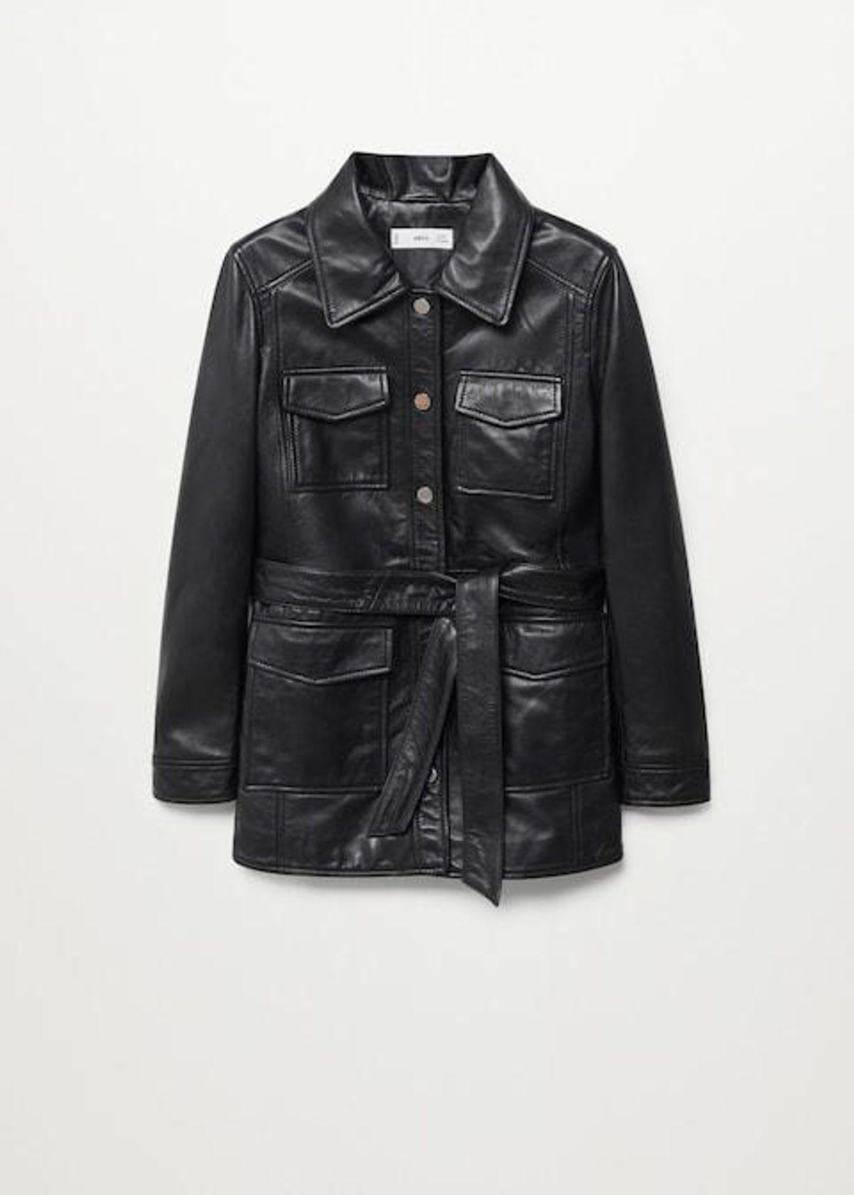 Saharian Leather Jacket