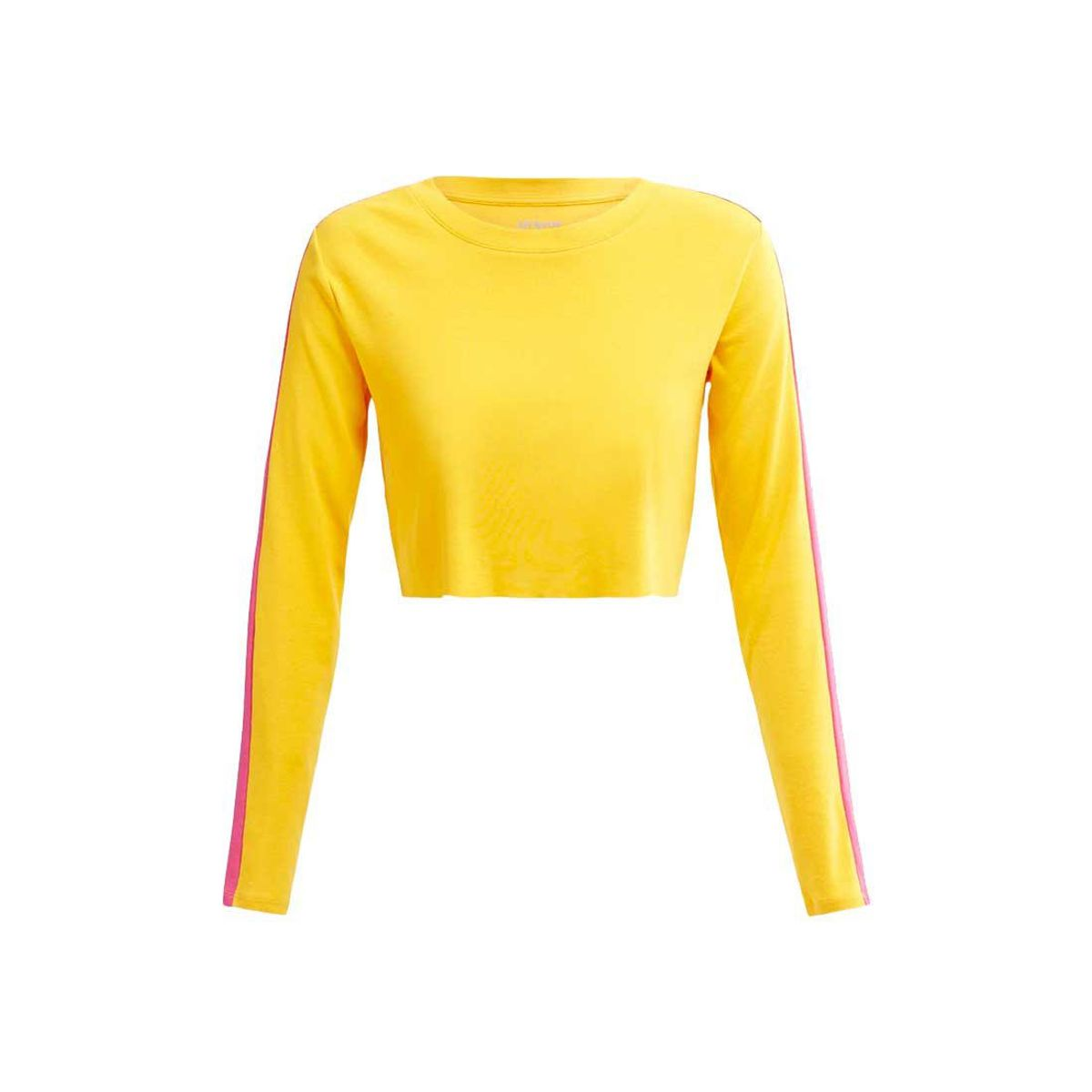 all access encore cropped long sleeve top
