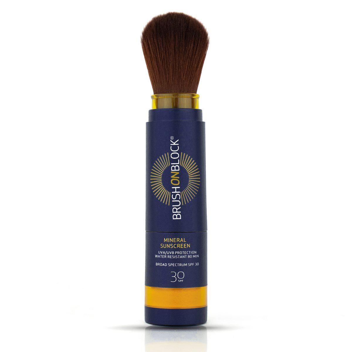 brush on block translucent mineral spf powder sunscreen spf 30
