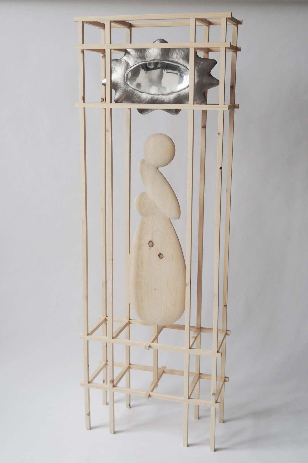 Knotty Pine Mirror